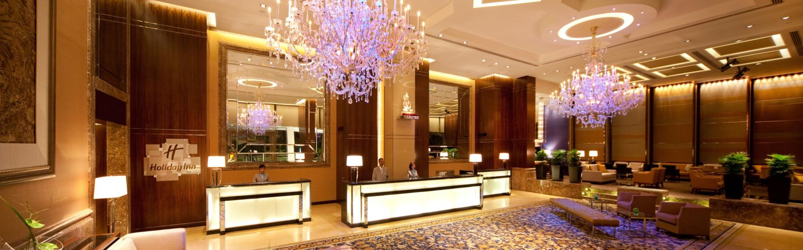 A Grand Hotel Lobby To Welcome Our Valued Guests