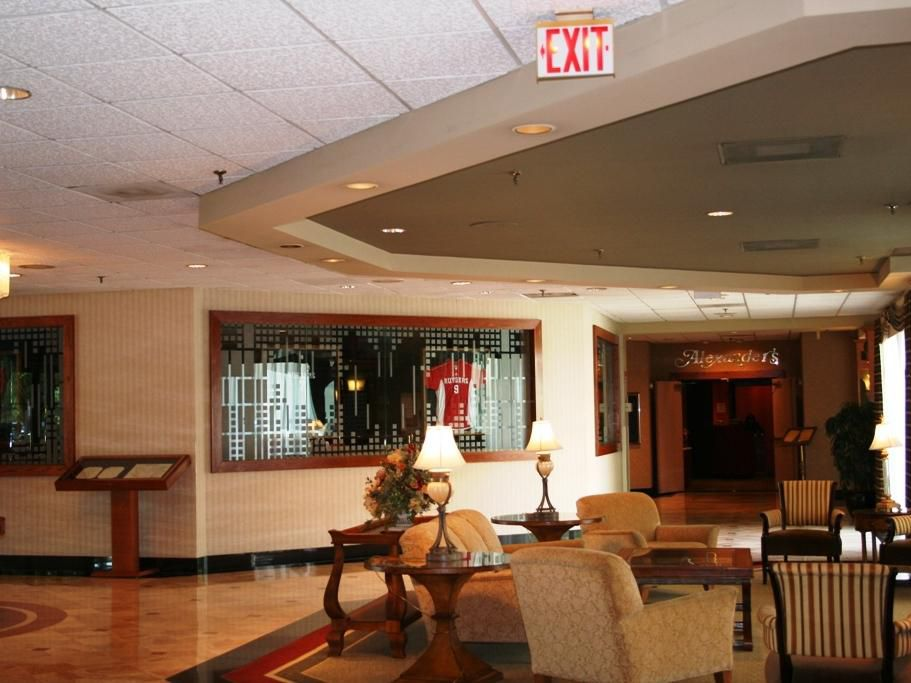 Grand entrance facing Jersey's Sports Bar