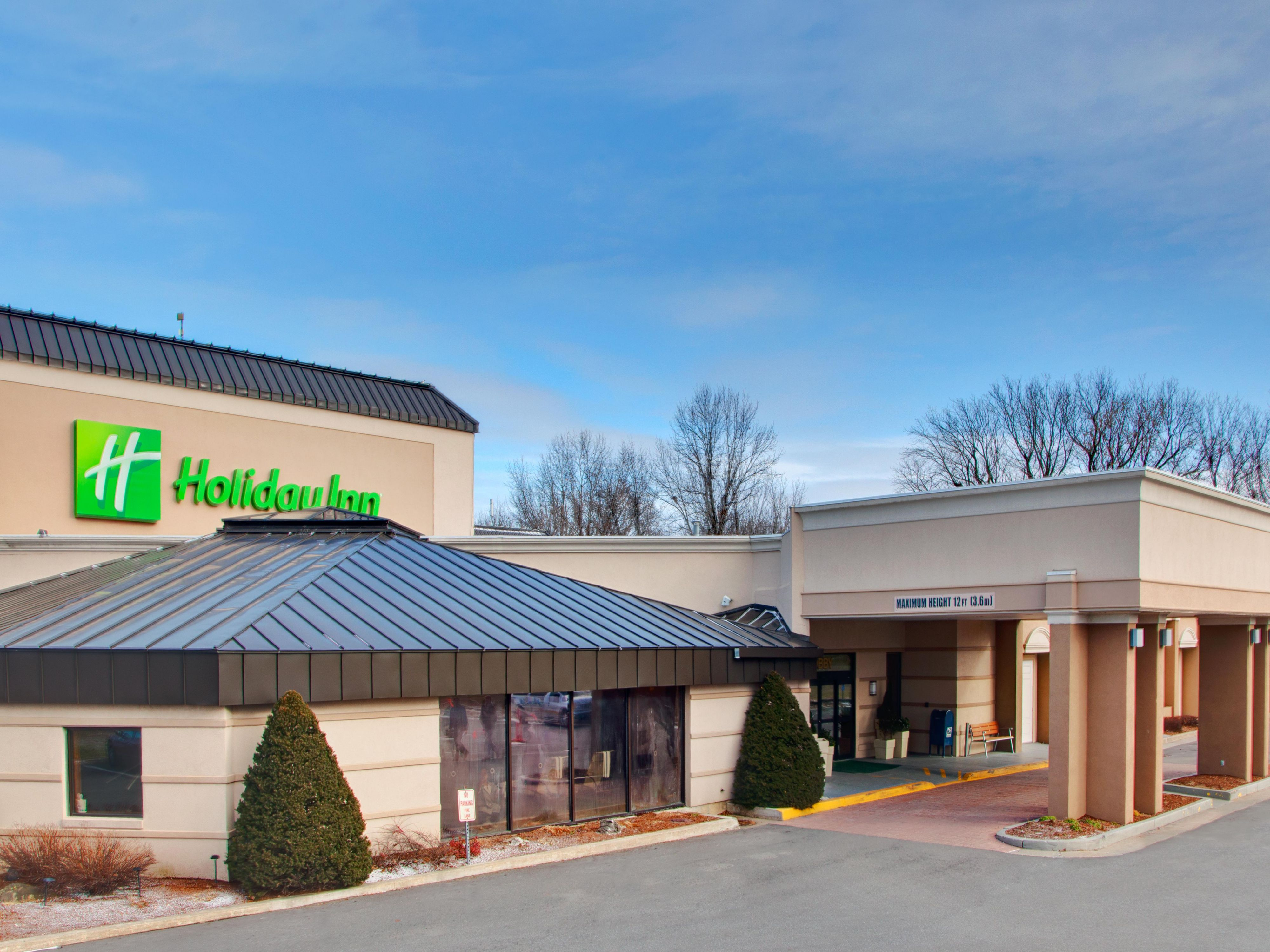 Welcome to the Holiday Inn Burlington!