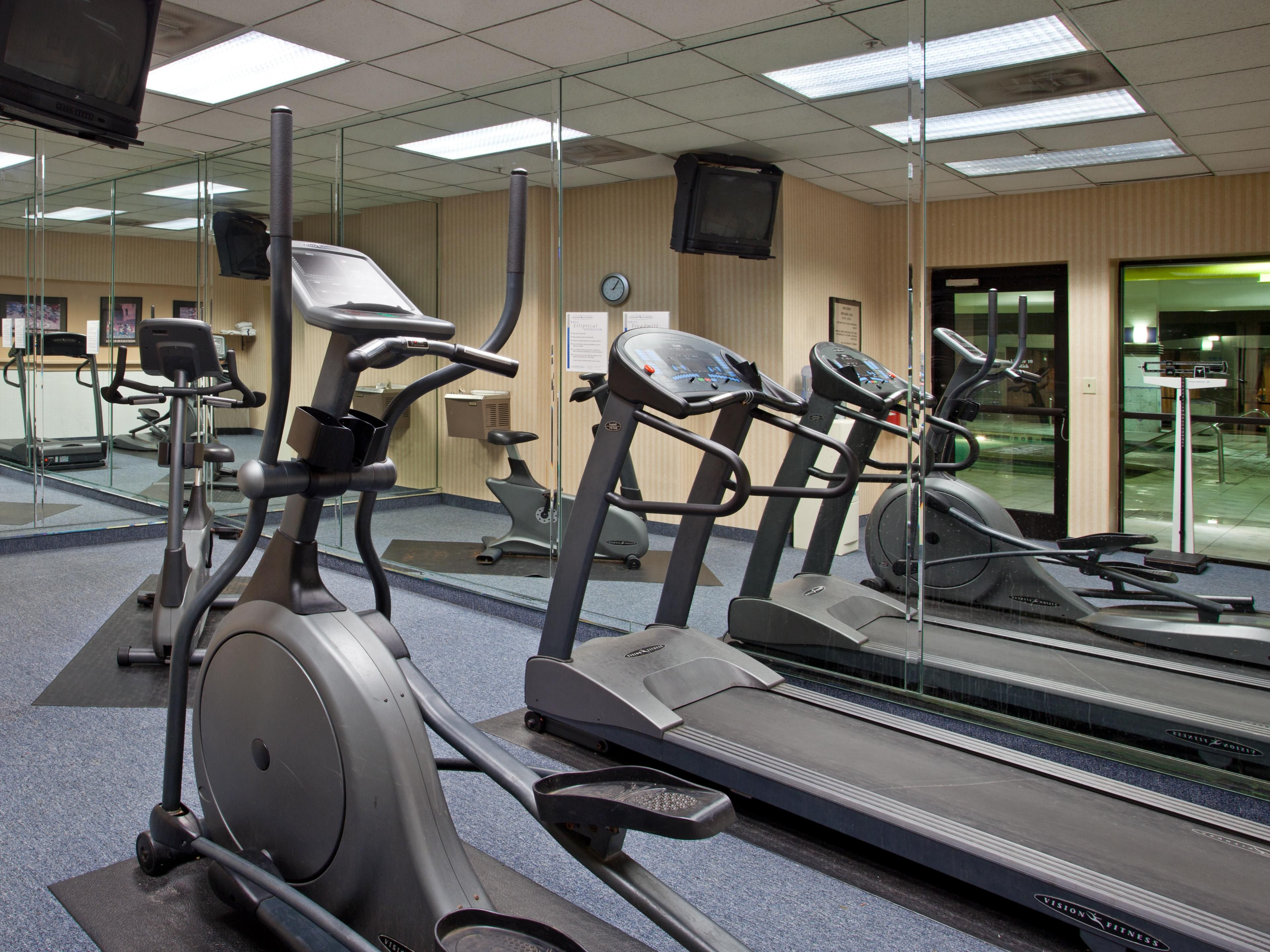 Work out in our On-site Fitness Center