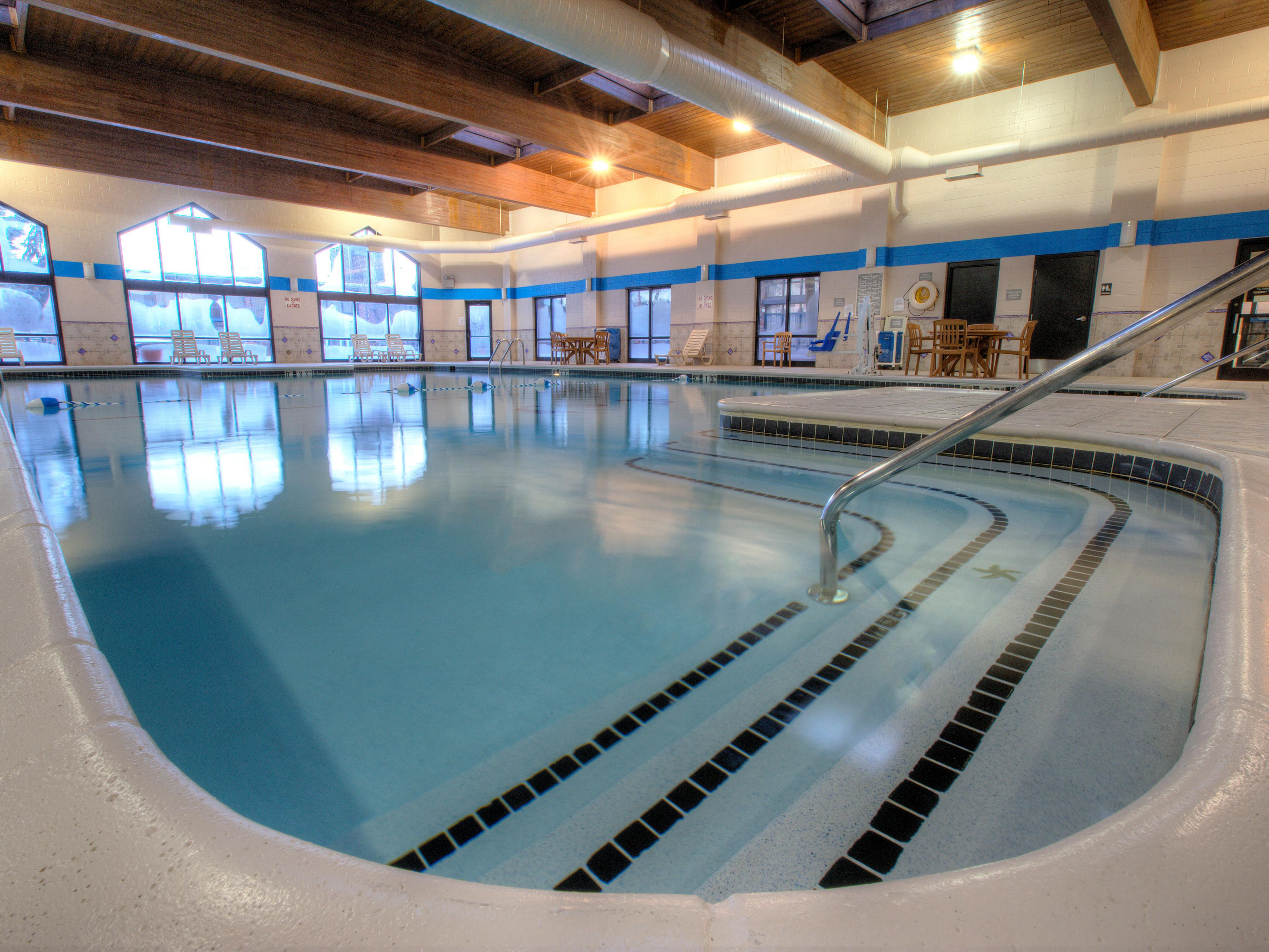 Downrivers largest indoor swimming pool!