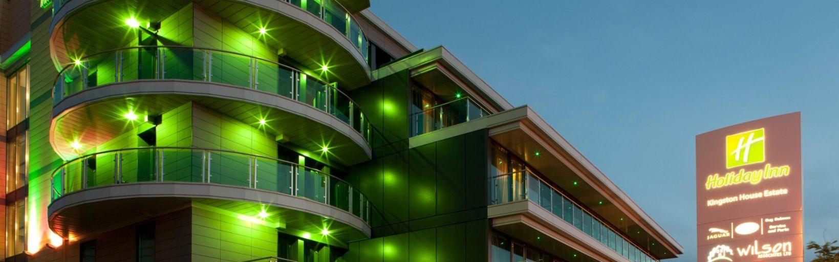 Exterior Feature Modern Hotel