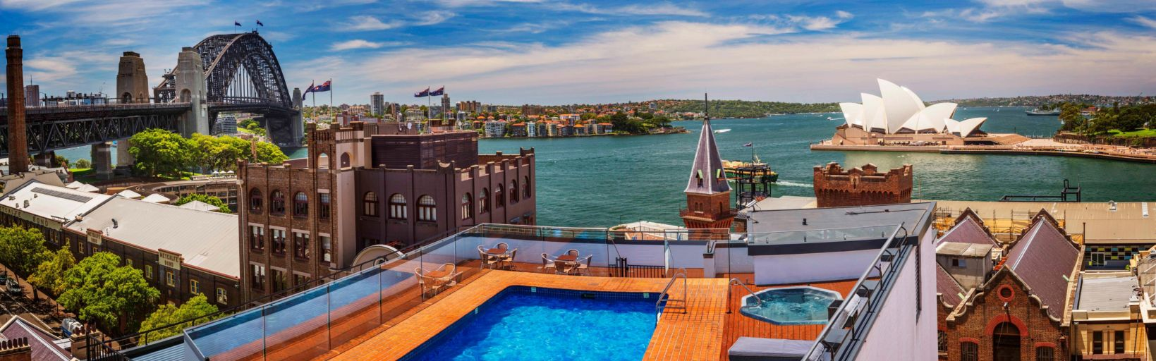 Holiday Inn Old Sydney Rooftop View