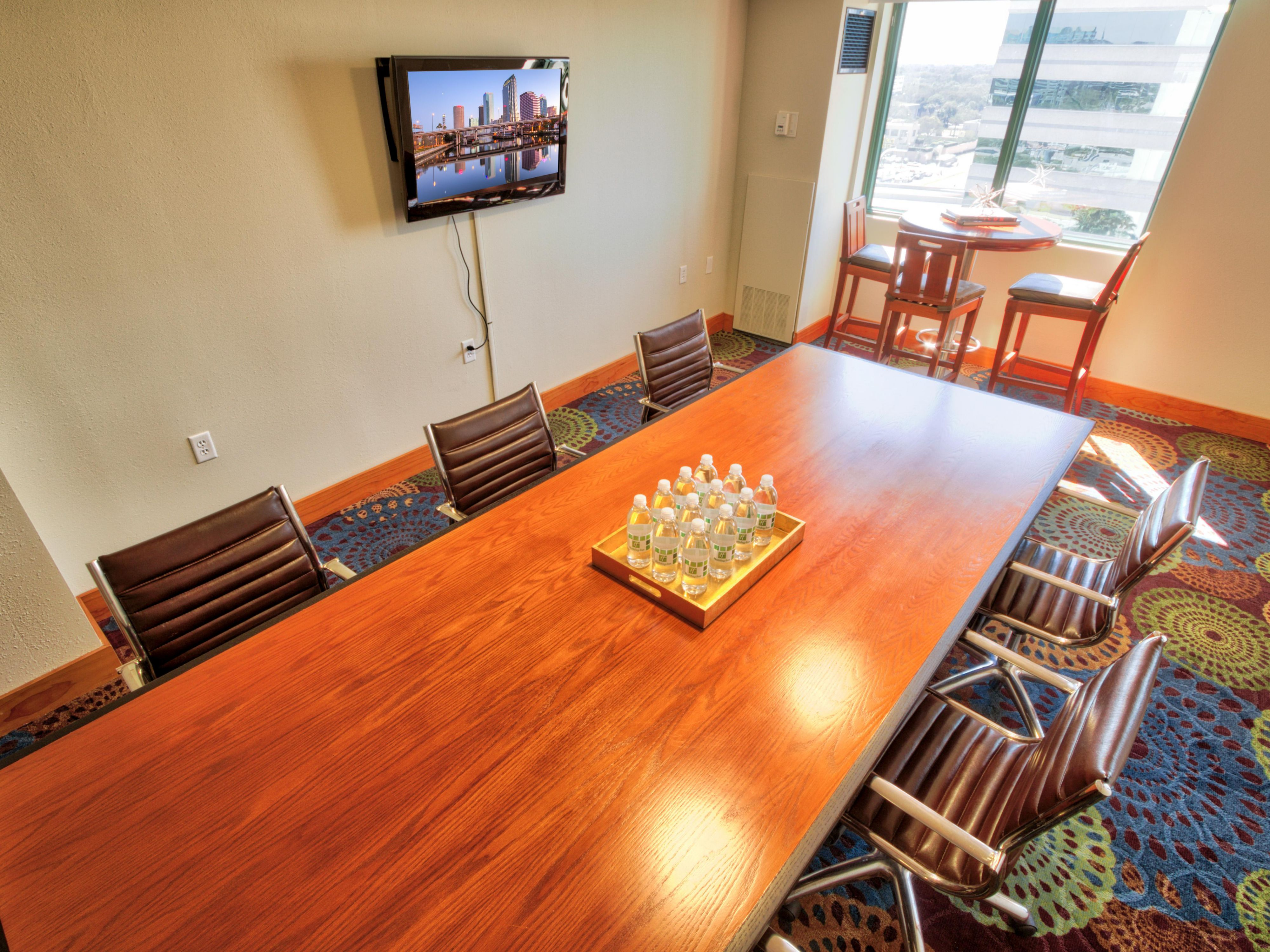 Conference Table in Club Floor Lounge