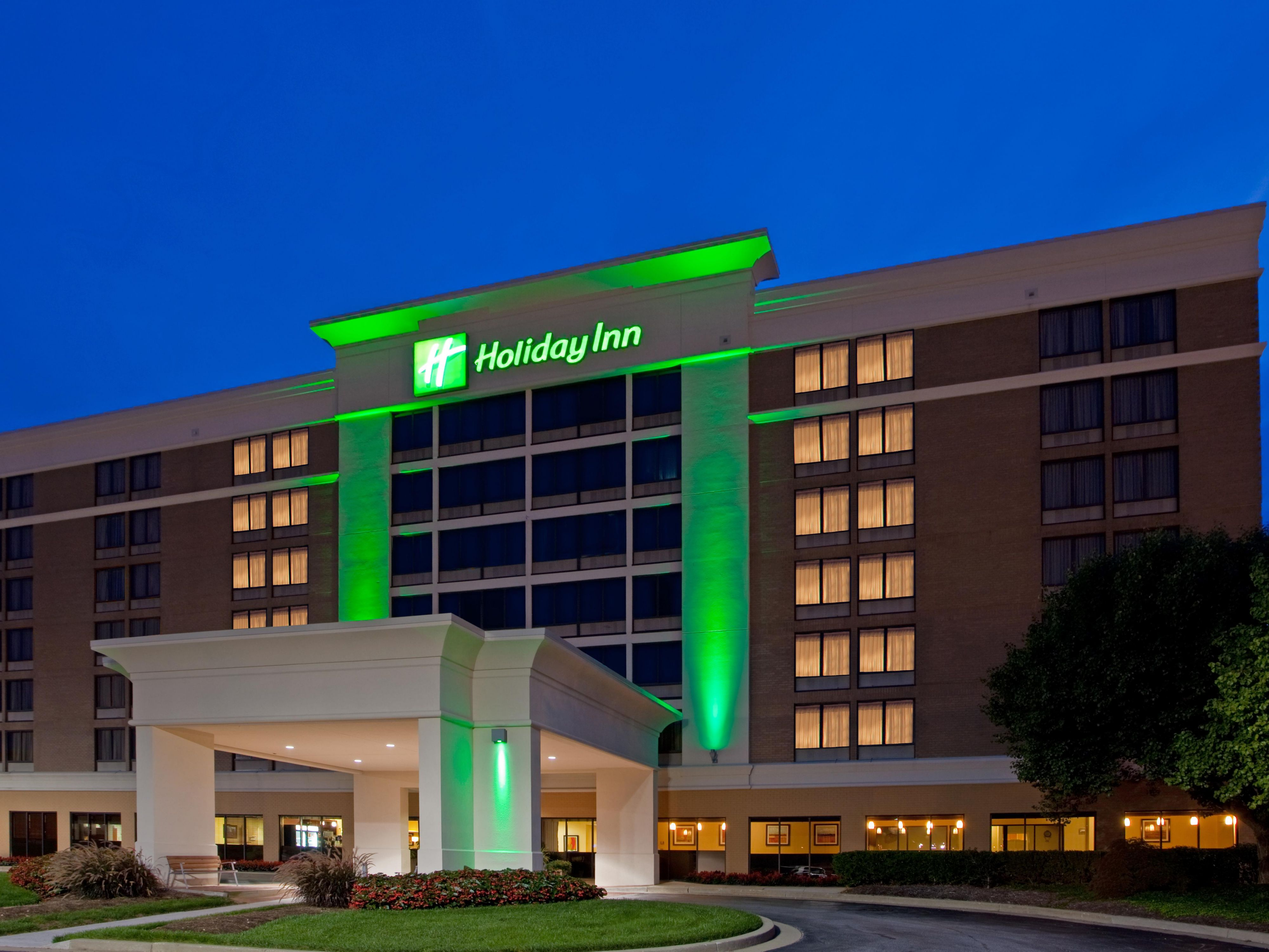 Holiday Inn Timonium Exterior