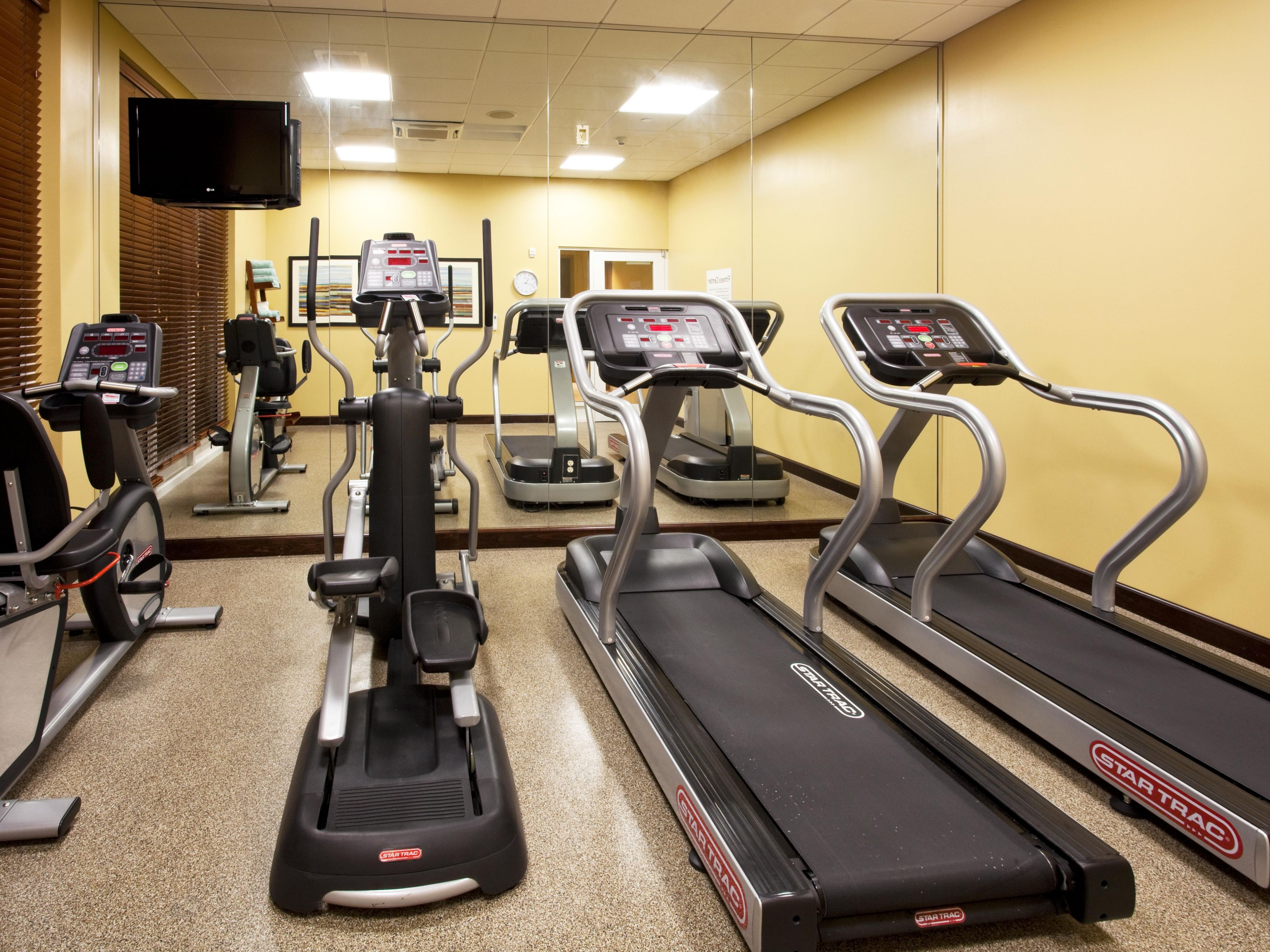 State of the art equipment in our fitness center