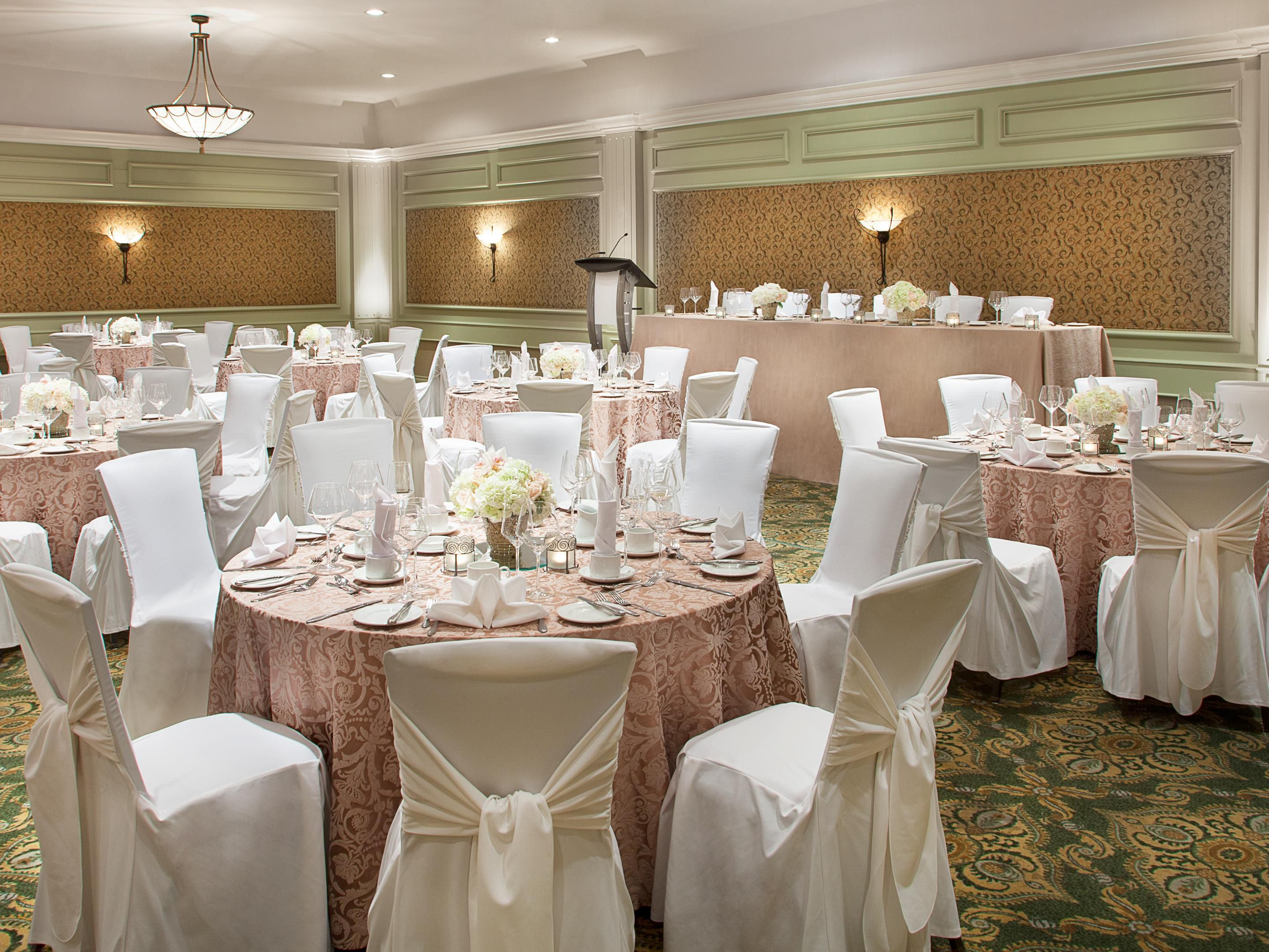 York Ballroom - Over 11,000 sq. ft. of Meeting & Event Space