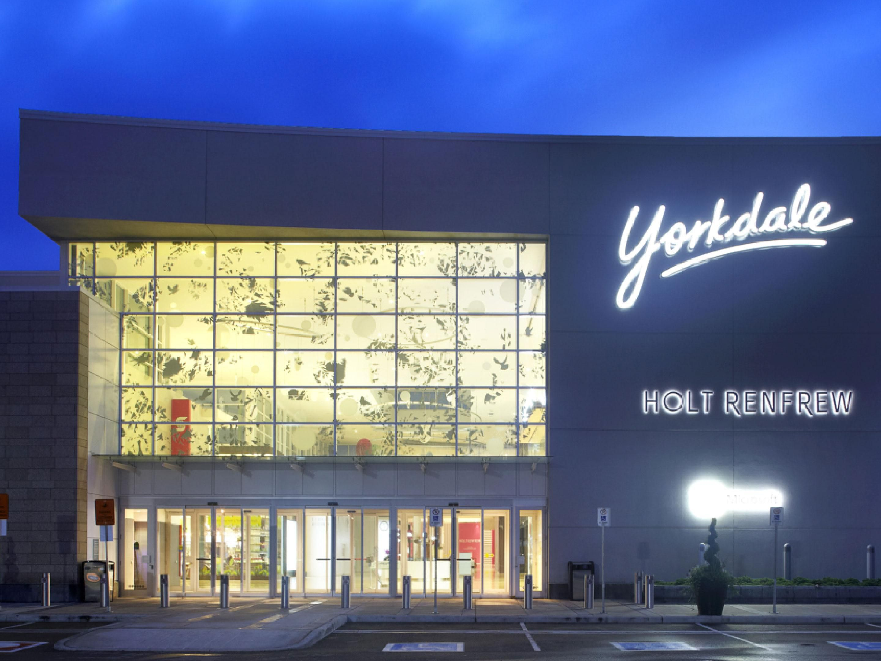 Yorkdale Shopping Centre in Toronto just steps away