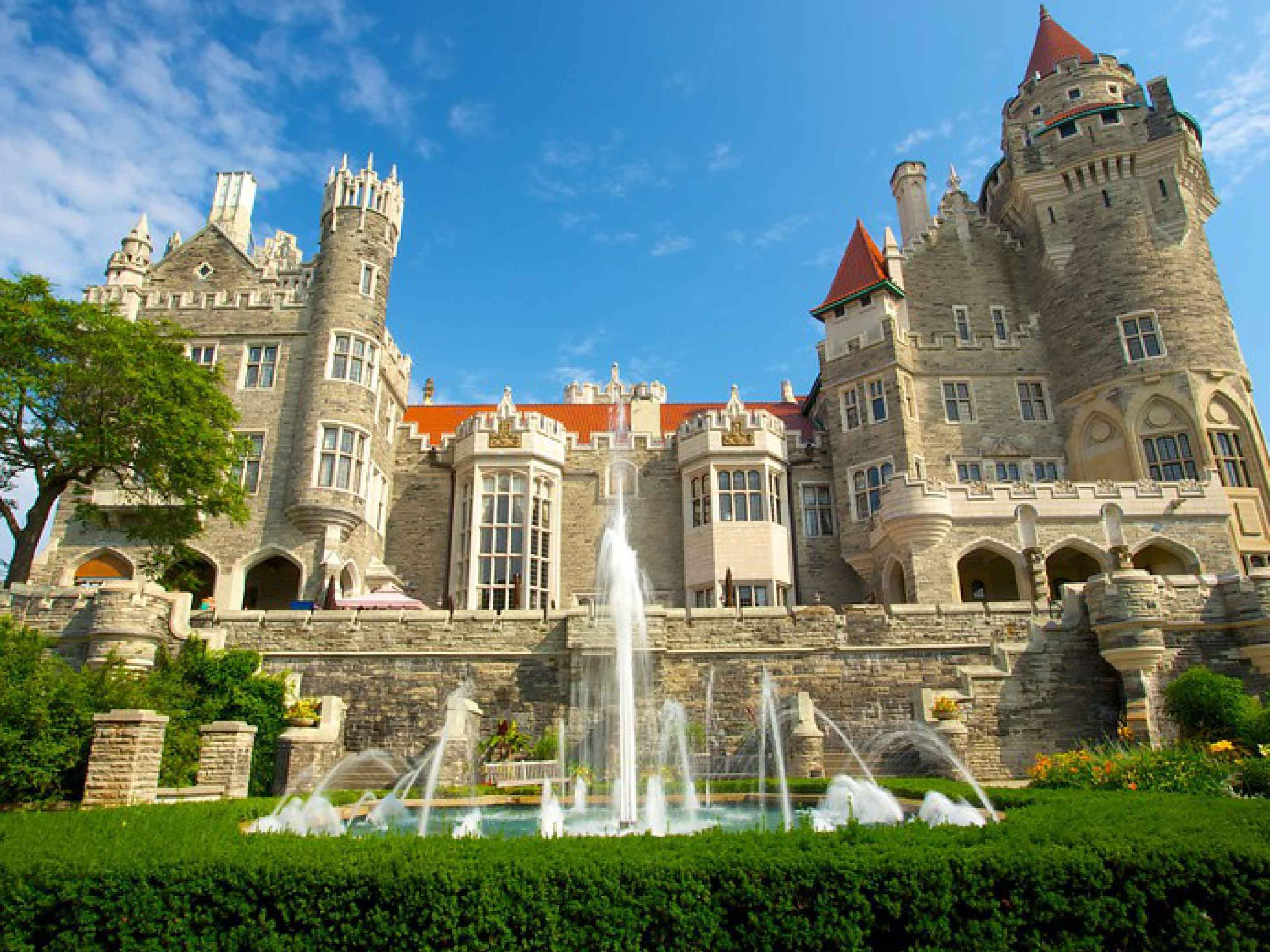 Nearby Casa Loma - North America's only castle located in Toronto
