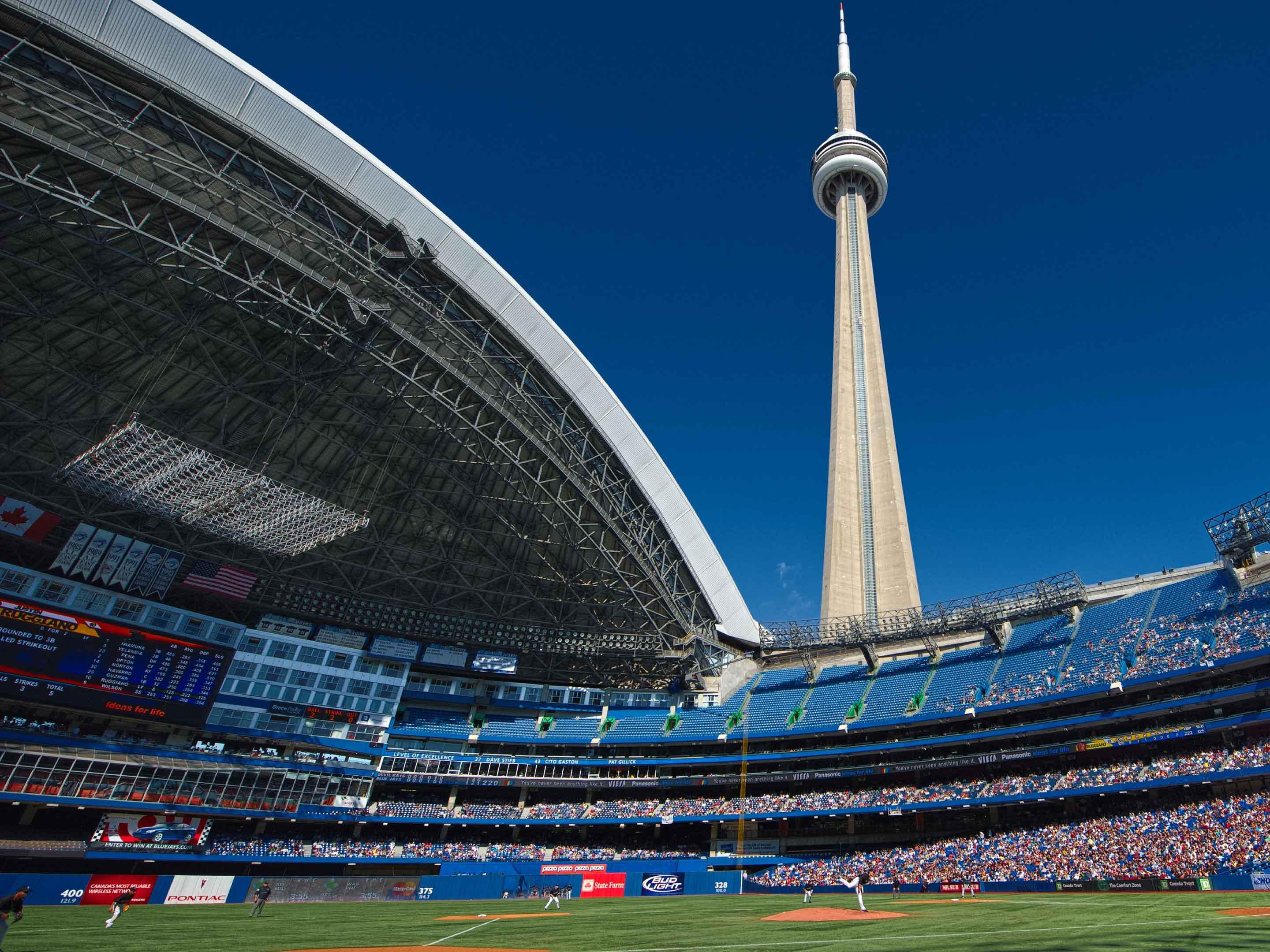 CN Tower & Rogers Centre - Catch a Blue Jay's Game or See the City