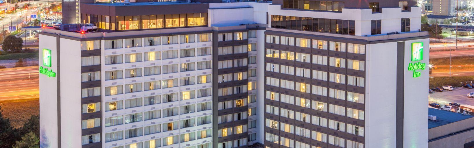 Hotel Exterior Evening View