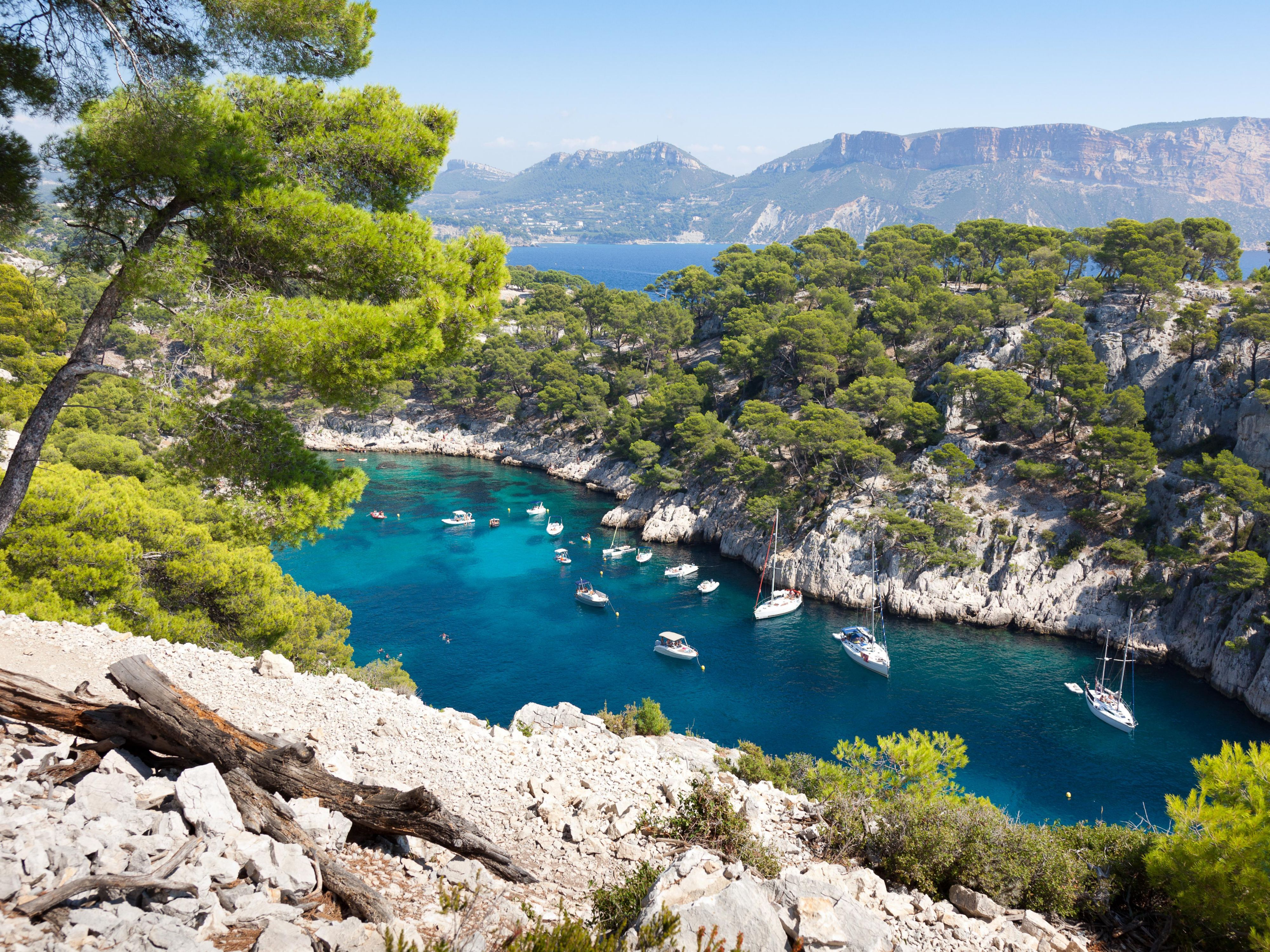Cassis 's creeks