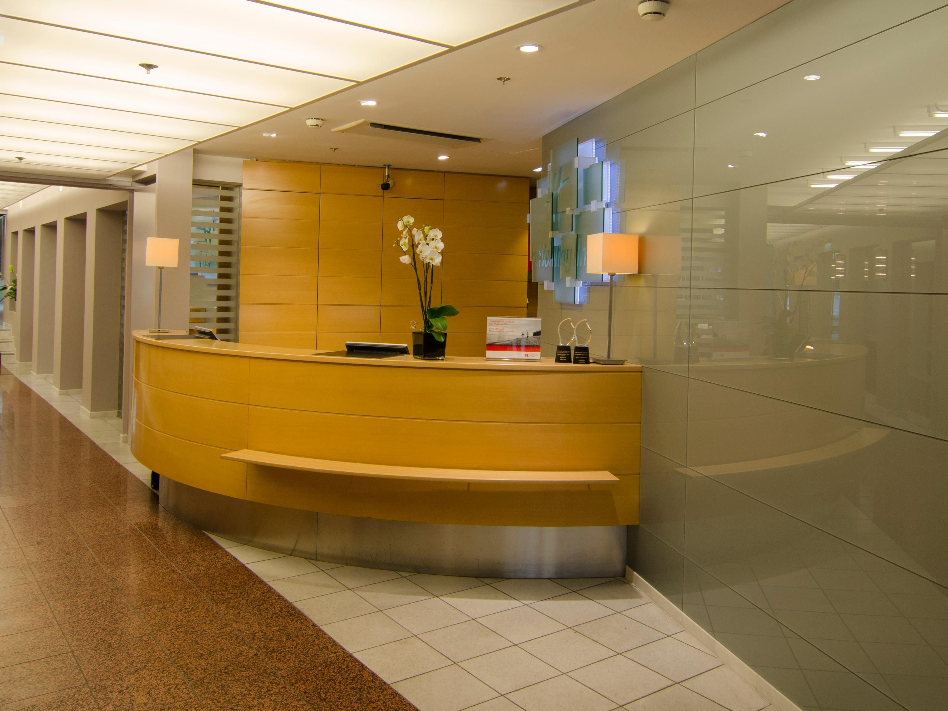 Entrance with front desk