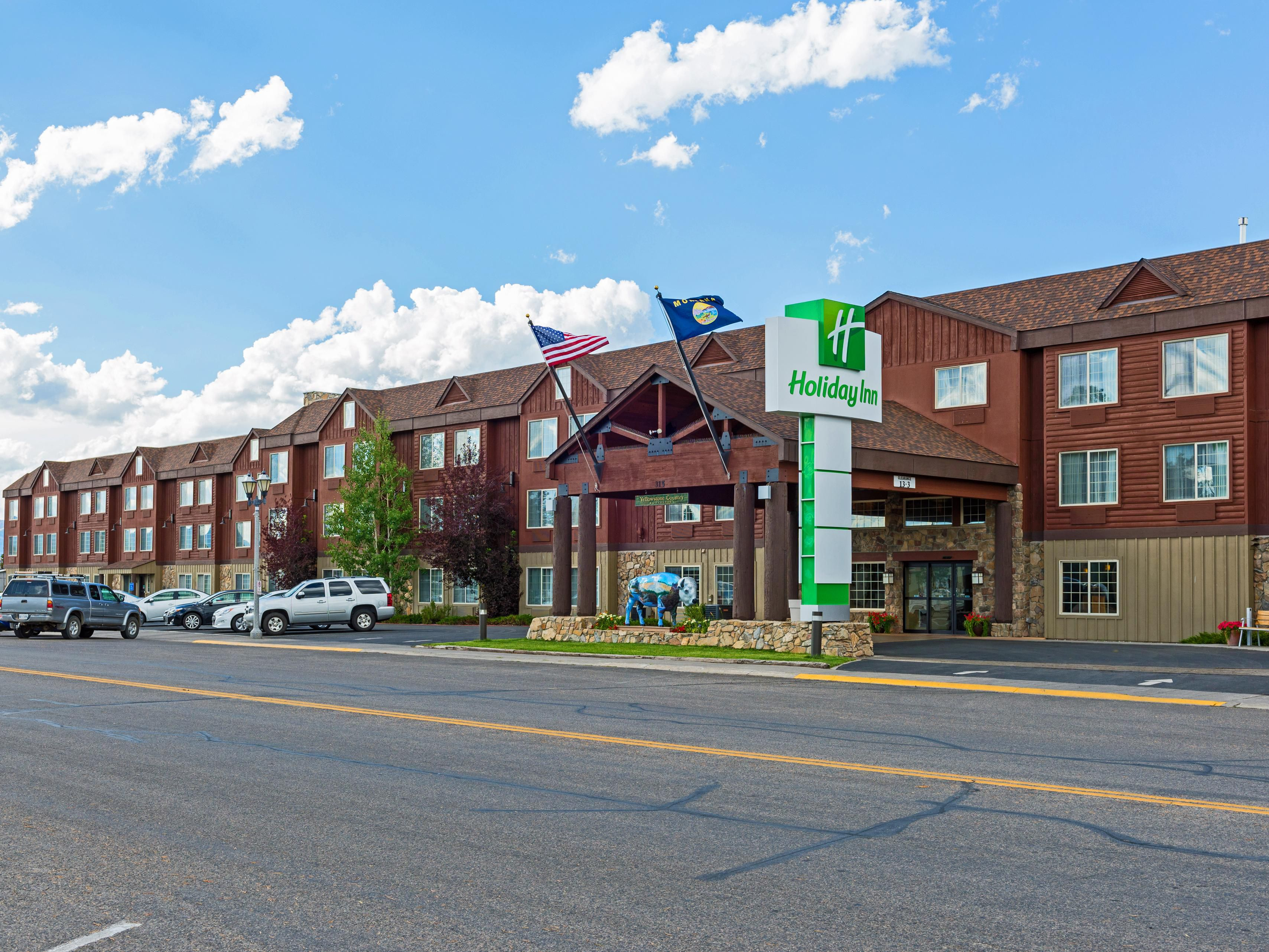 The Holiday Inn in West Yellowstone, Montana