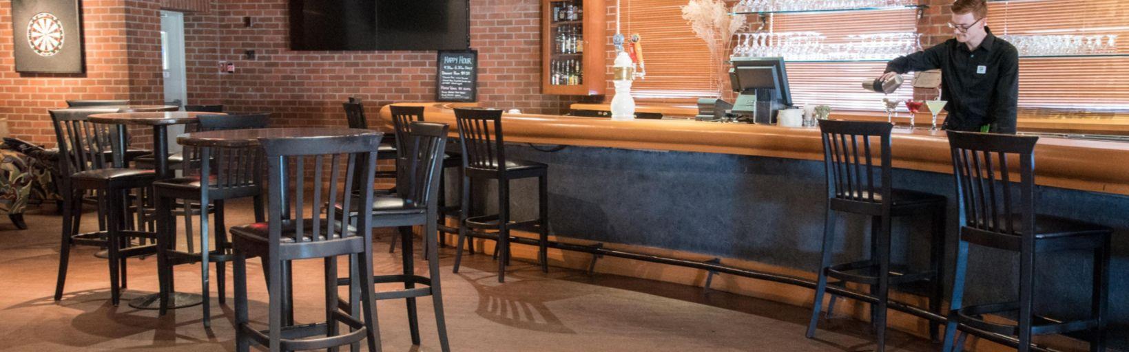 Gatekeeper Lounge Restaurant Fireplace