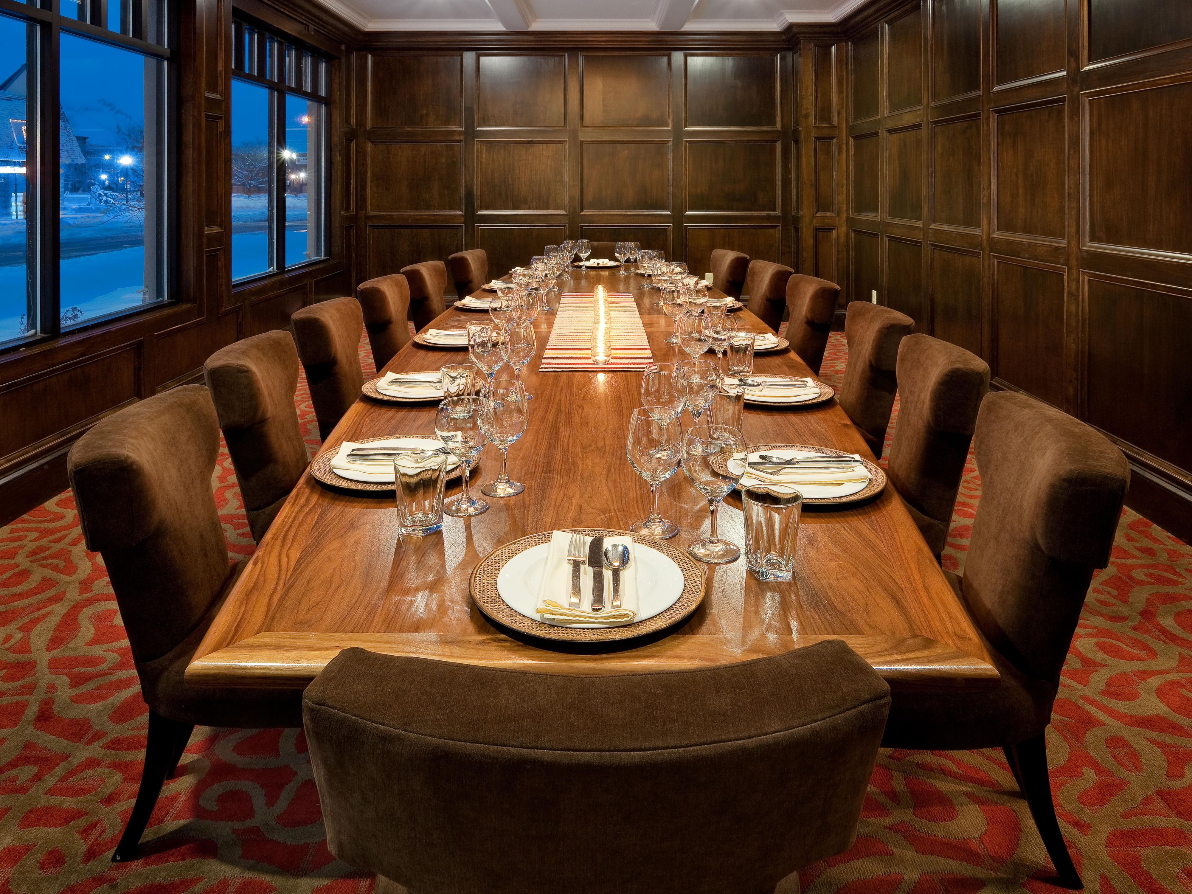 The Pine Street Boardroom
