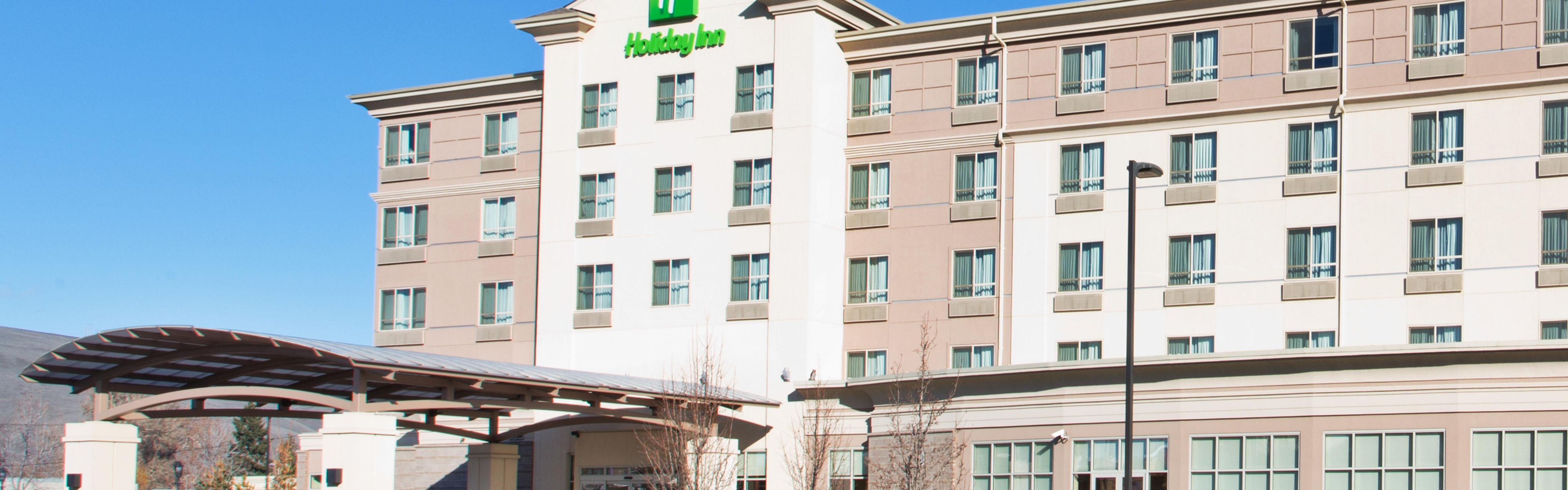... Hotel Exterior; Holiday Inn Yakima   One Minute Away From Yakima  Convention Center ...