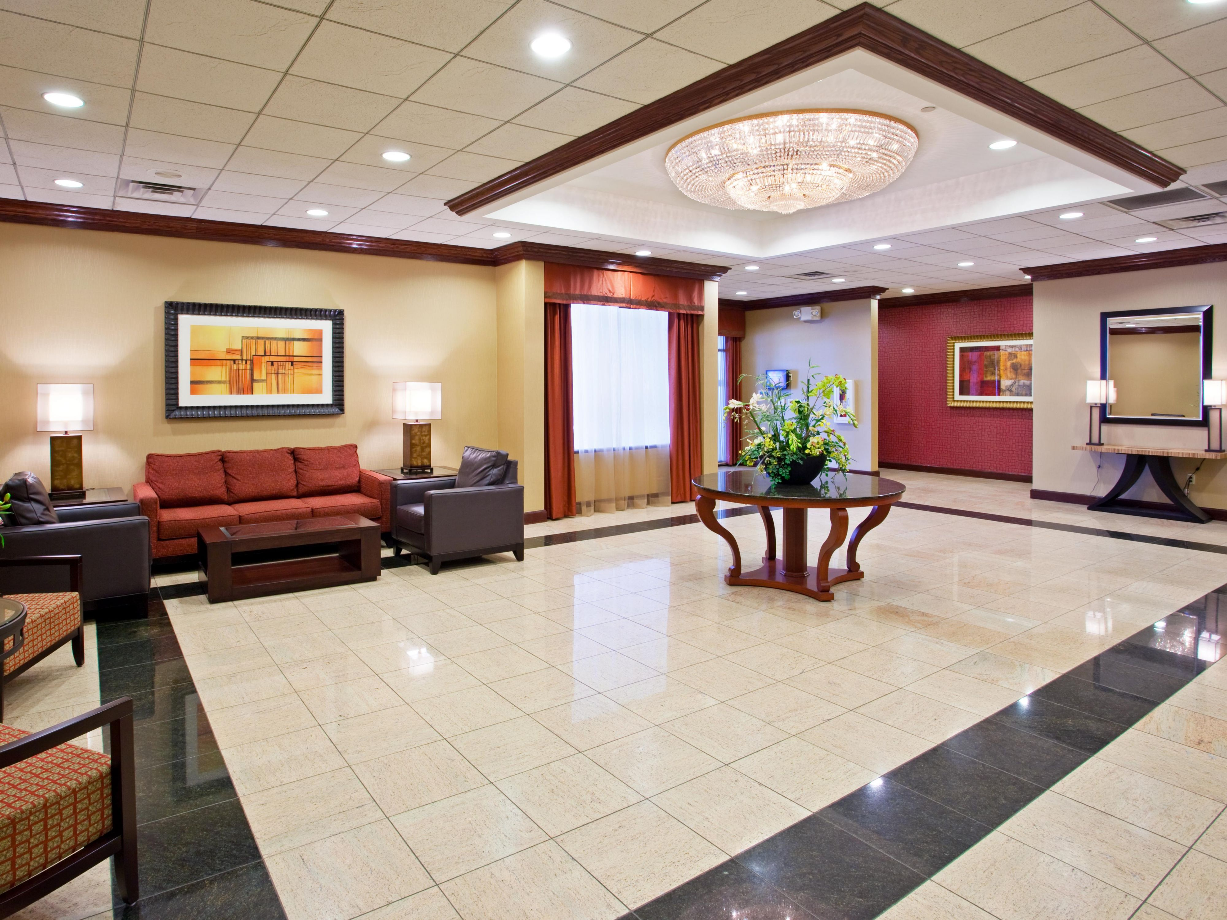Hotel Conference Center Lobby Youngstown South