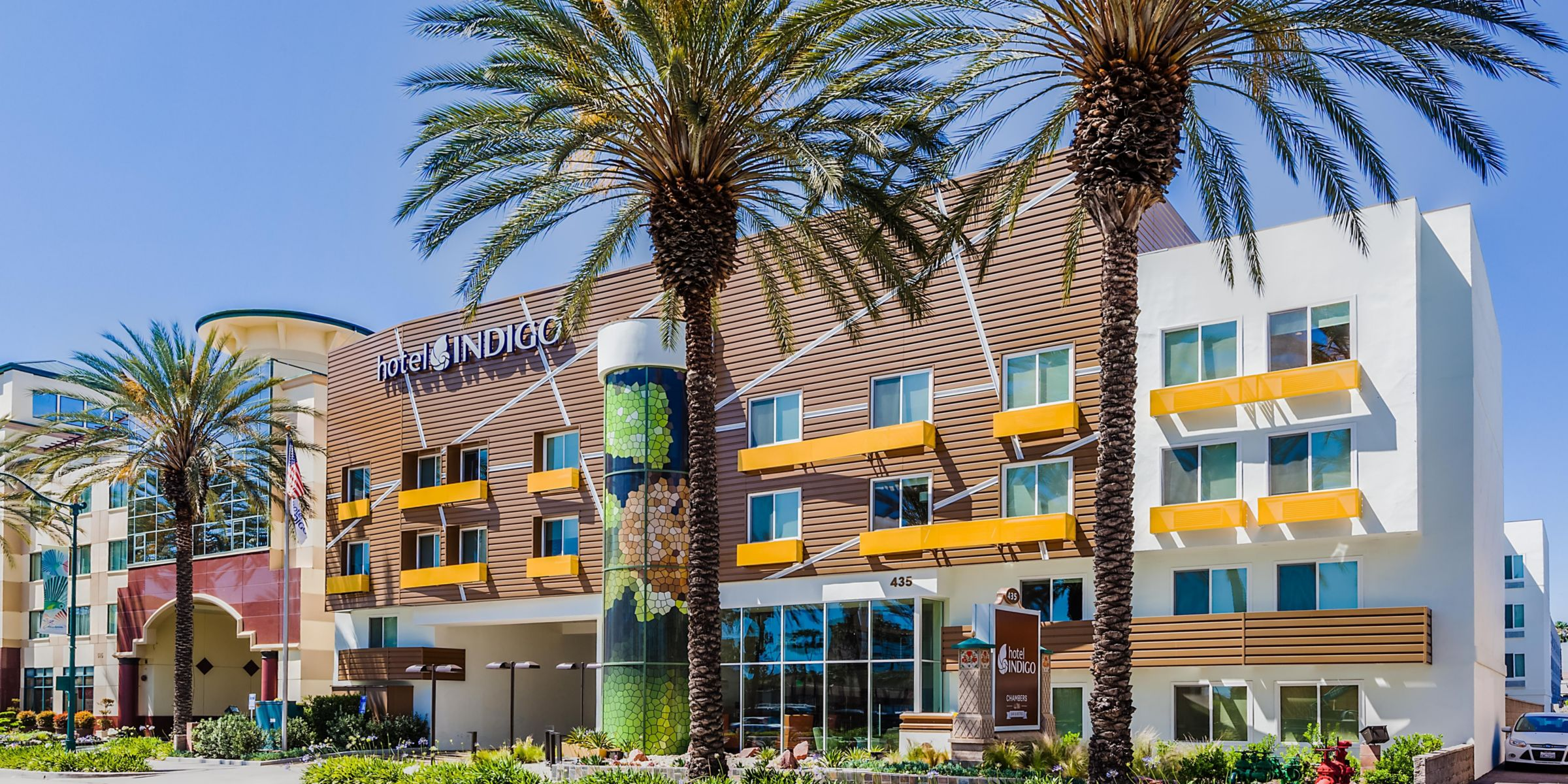 Welcome To The Hotel Indigo Anaheim No Resort Fees
