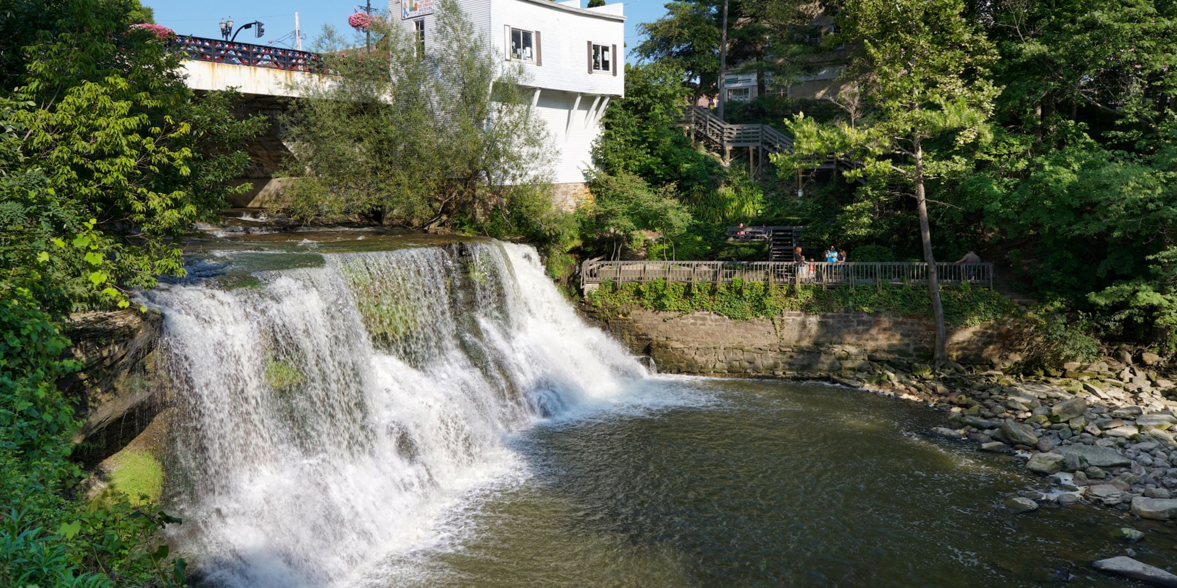 Historic Town Of Chagrin Falls