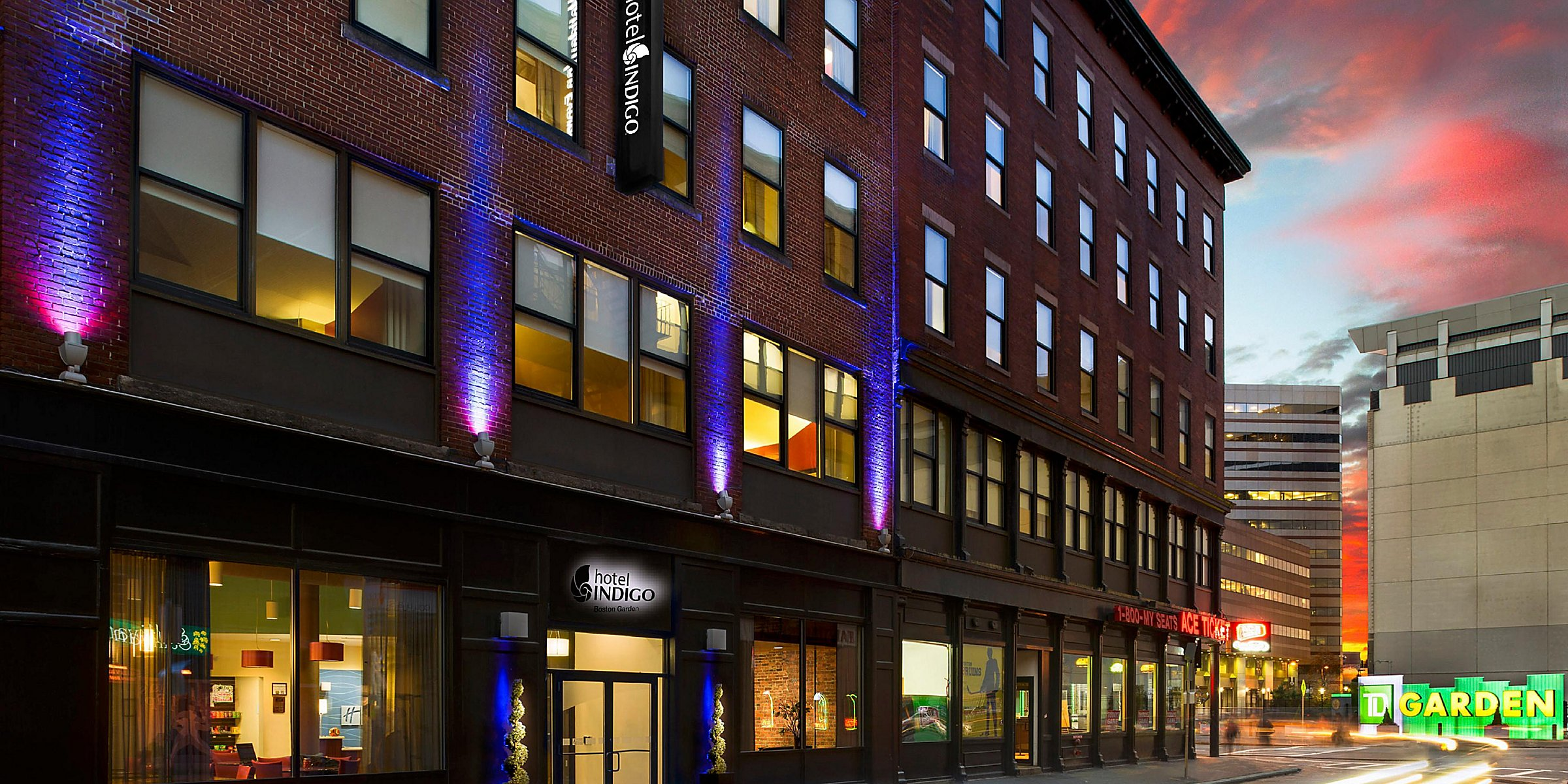 Hotel Indigo Boston Garden Boutique Hotels In Downtown Boston