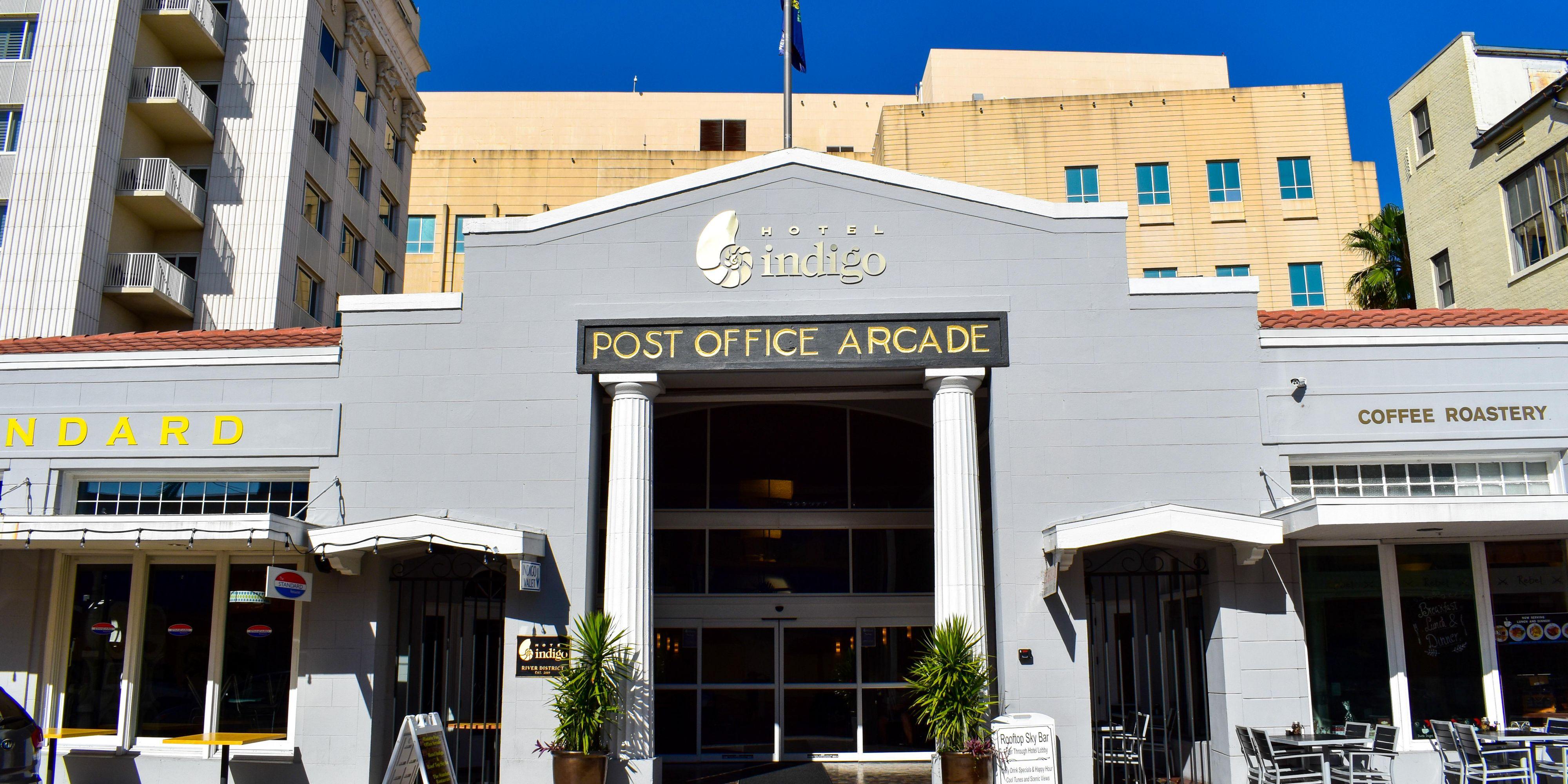 Atrium; Atrium; Entrance; Hotel Indigo Fort Myers Downtown River District;  Entrance; Entrance; Entrance ...