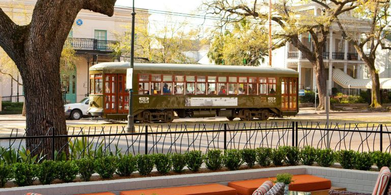 St Charles Avenue Streetcar Hotel Indigo New Orleans Garden District