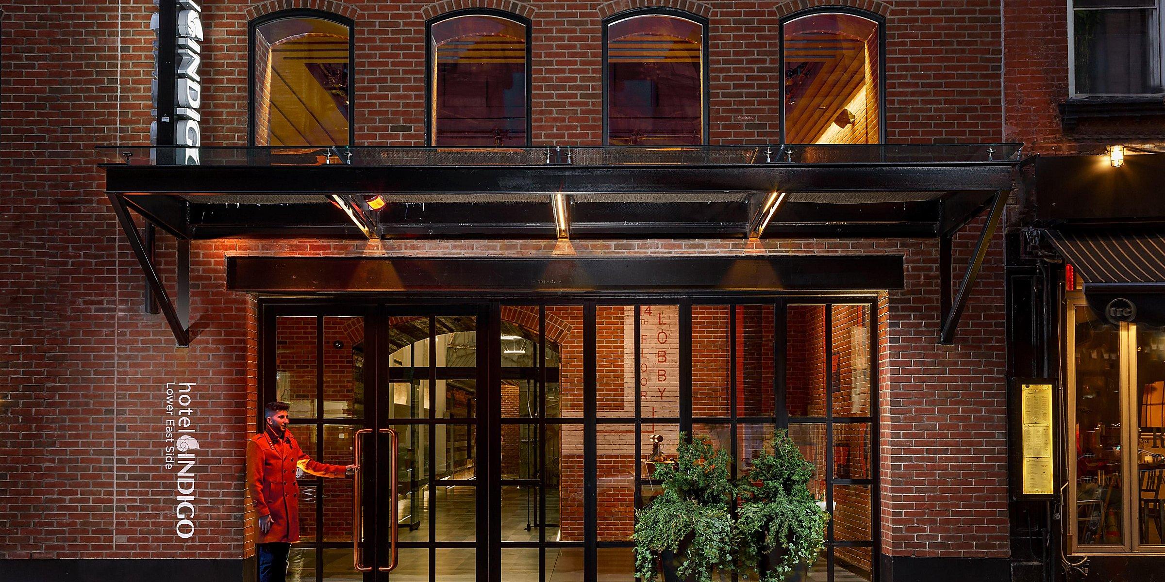 Boutique Hotels near East Village NYC | Hotel Indigo Lower