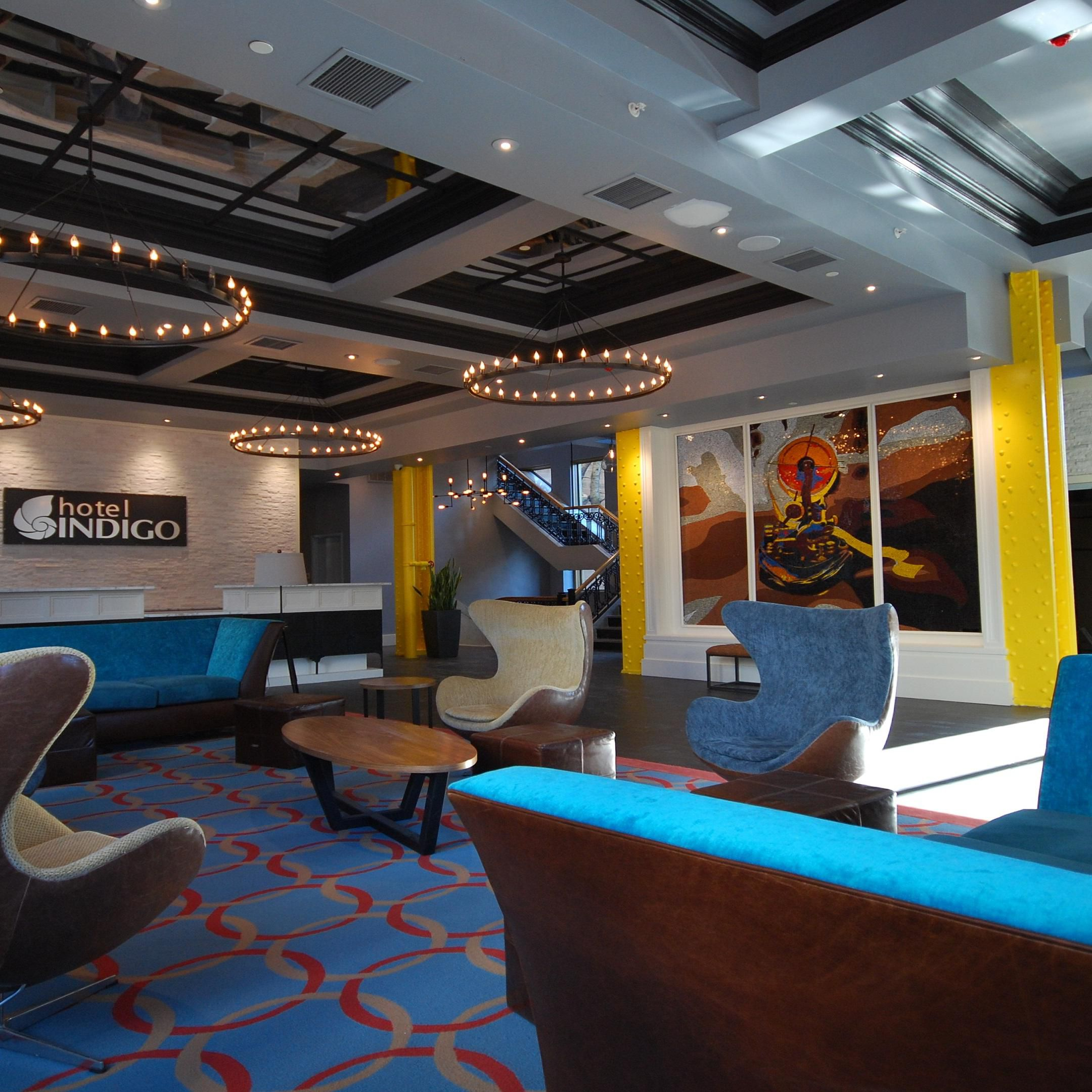 Hotels near prudential center candlewood suites newark ihg lobby photo malvernweather Gallery