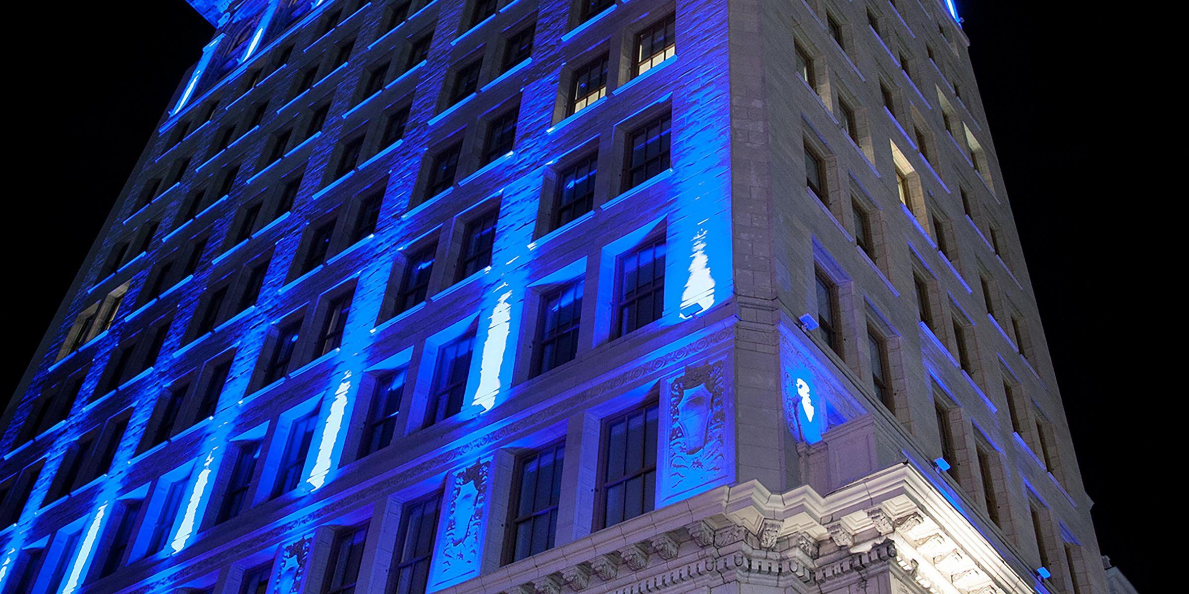 Hotel Indigo Newark Downtown Entrance; Exterior Feature ...