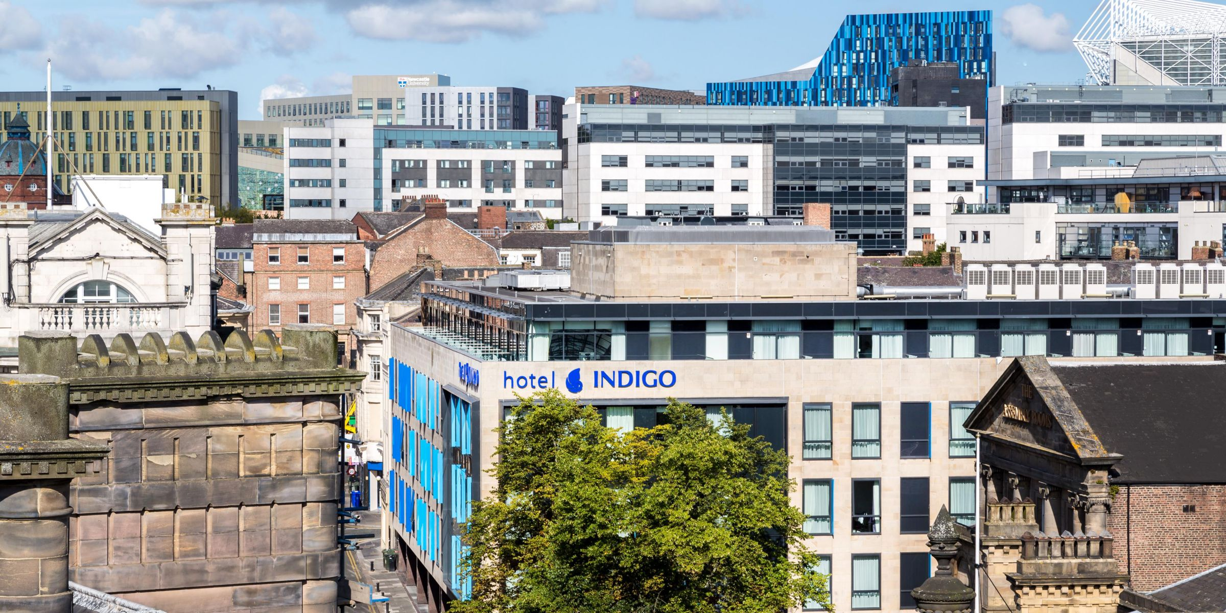 Indigo Newcastle Hotel Exterior A Short Stroll From The Train Station
