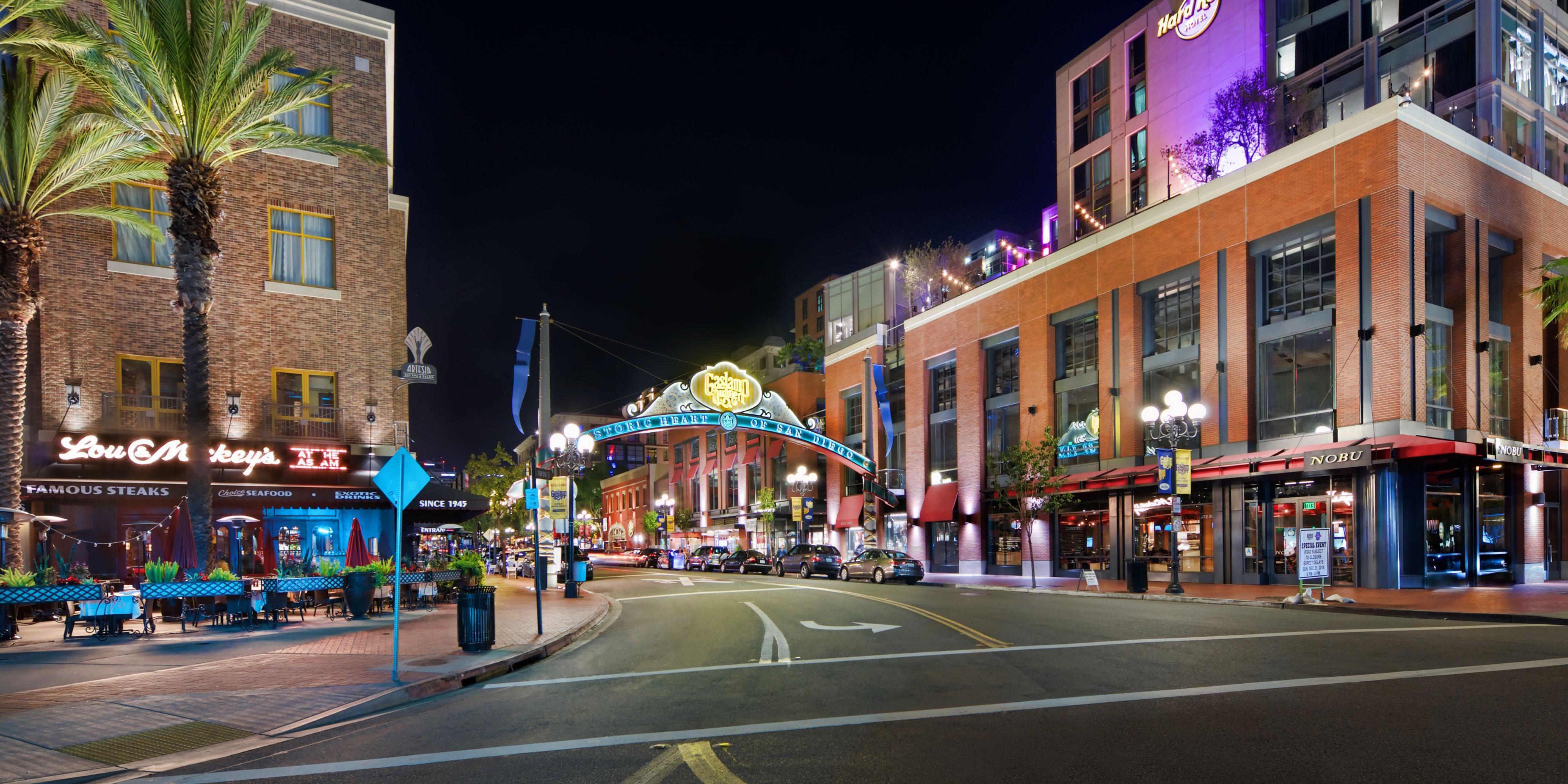 The Hotel Indigo Gaslamp Is Located Ner The Gaslamp Quarter ...