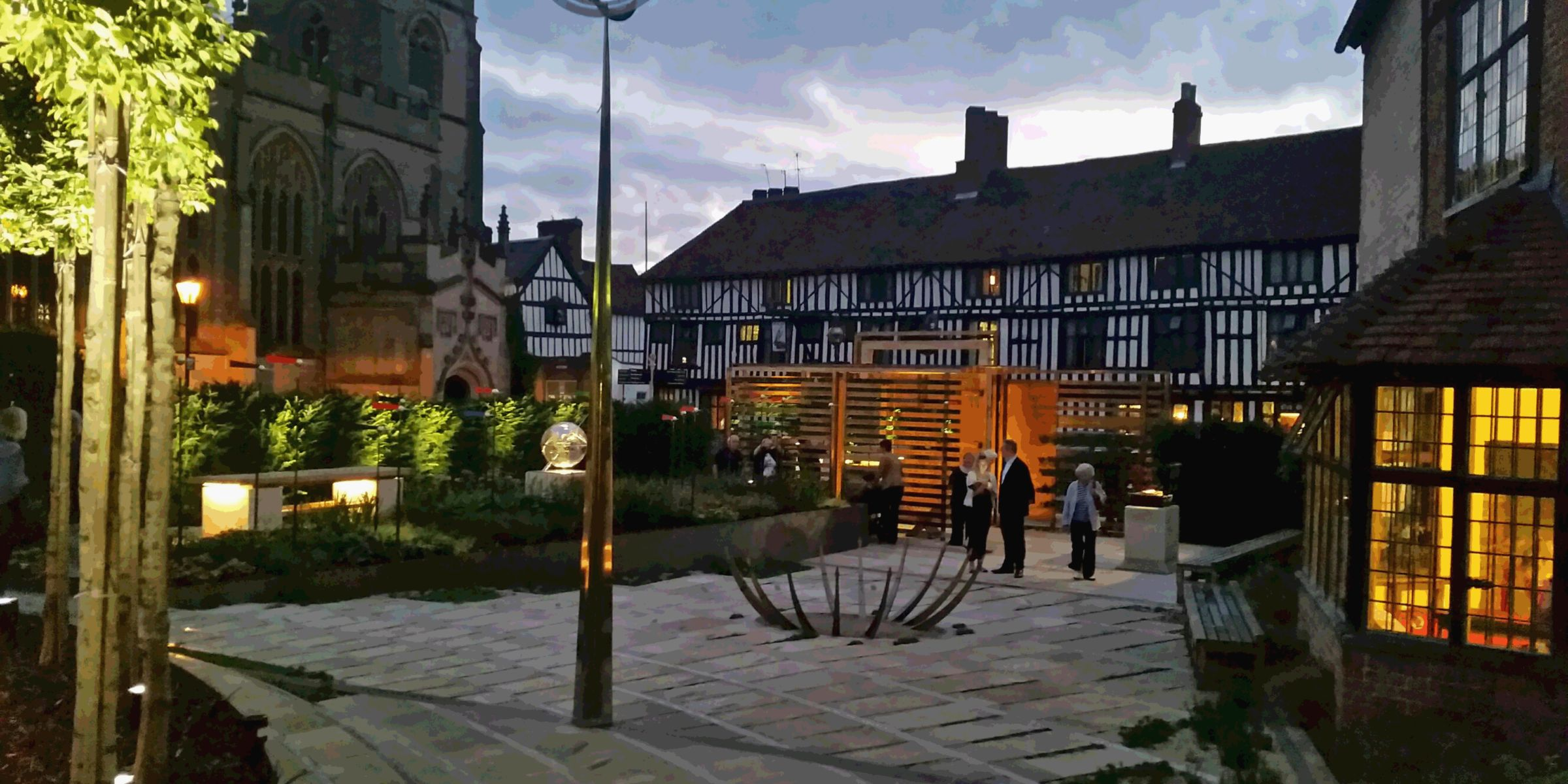 Enjoy The View Of Shakespeare 39 S New Place Just Outside Our Door Boutique Hotel Stratford Upon Avon