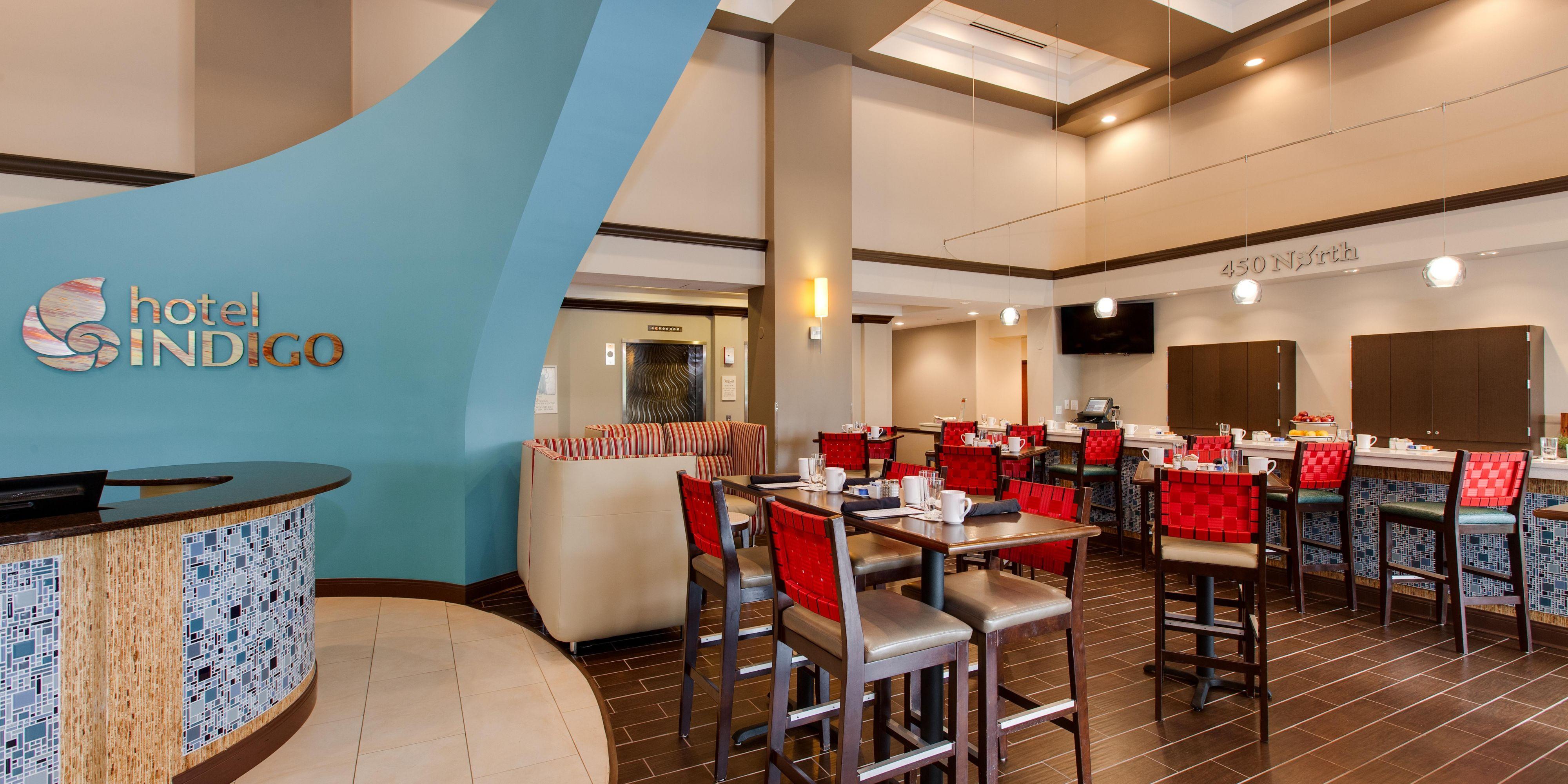... Upscale Warm Lobby Area; Welcome To Hotel Indigo Vernon Hills ...