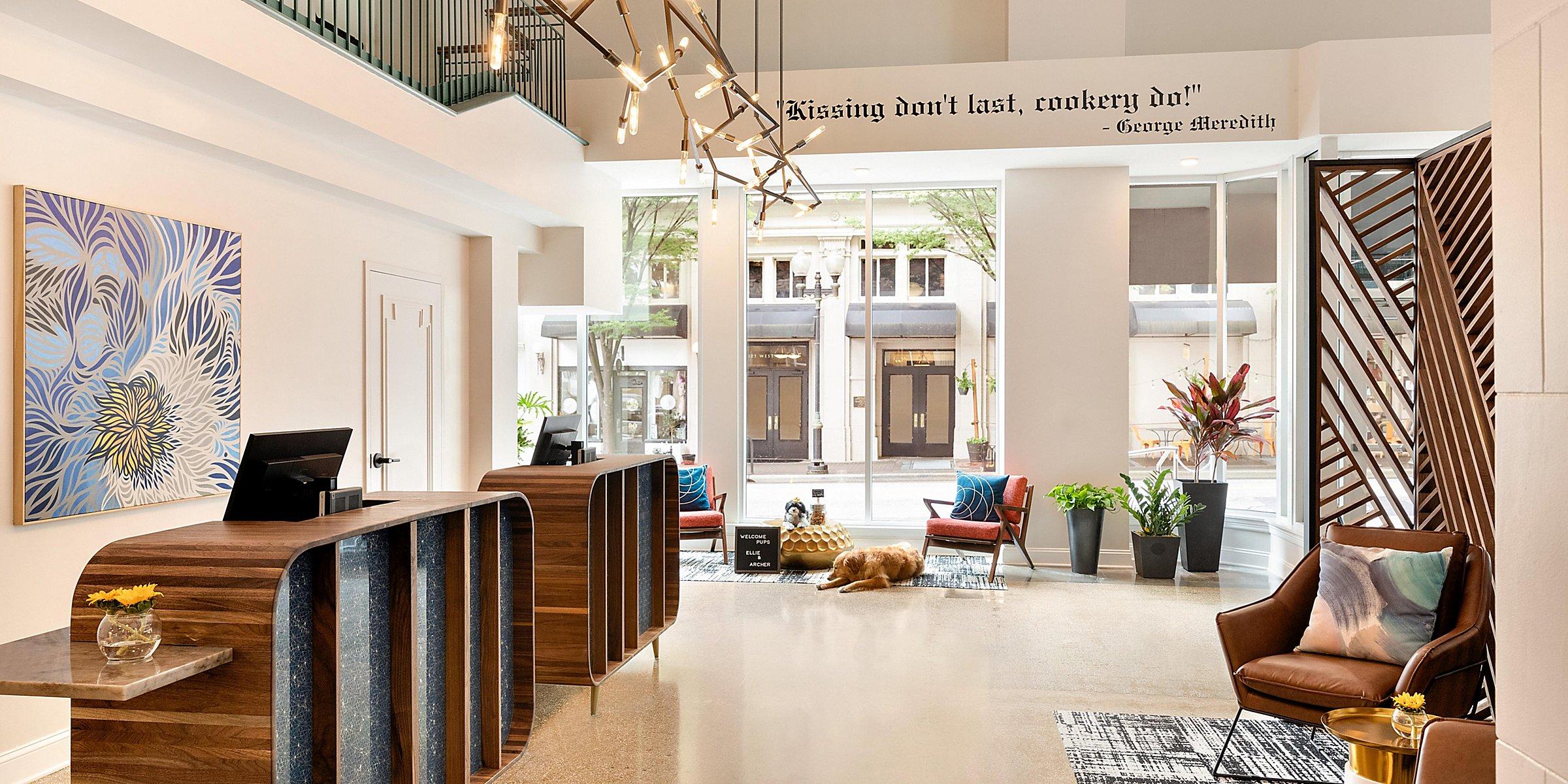 Boutique Hotels in Downtown Winston Salem | Hotel Indigo