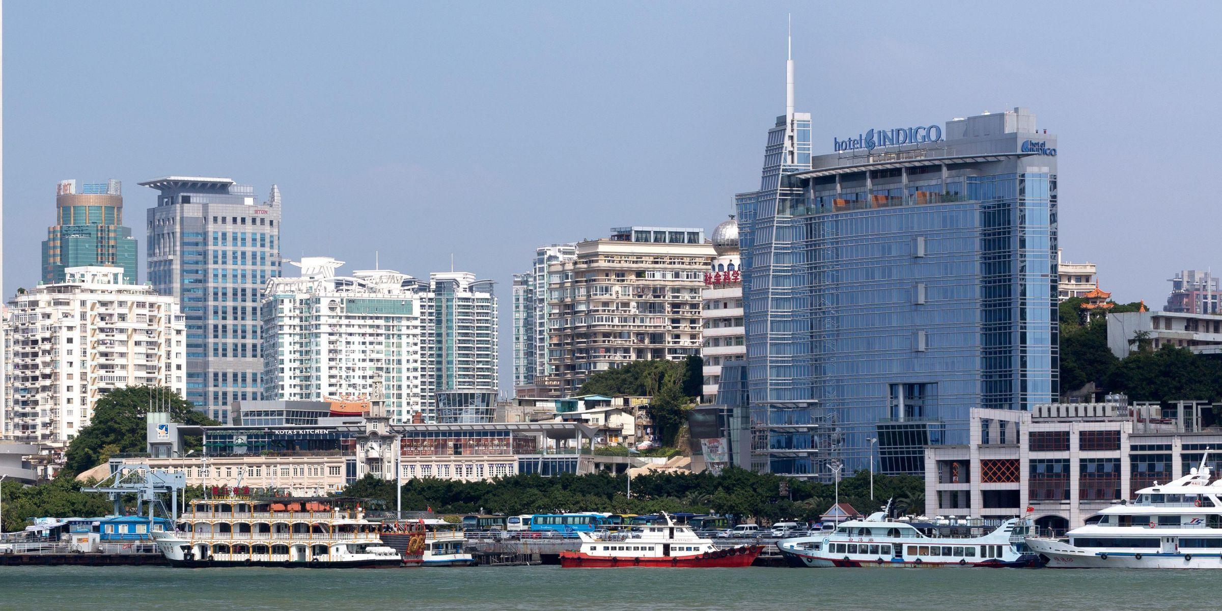 Hotel Xiamen Indigo Harbour Di Fj Tiket Masuk Sky 100 Hongkong Anak Exterior
