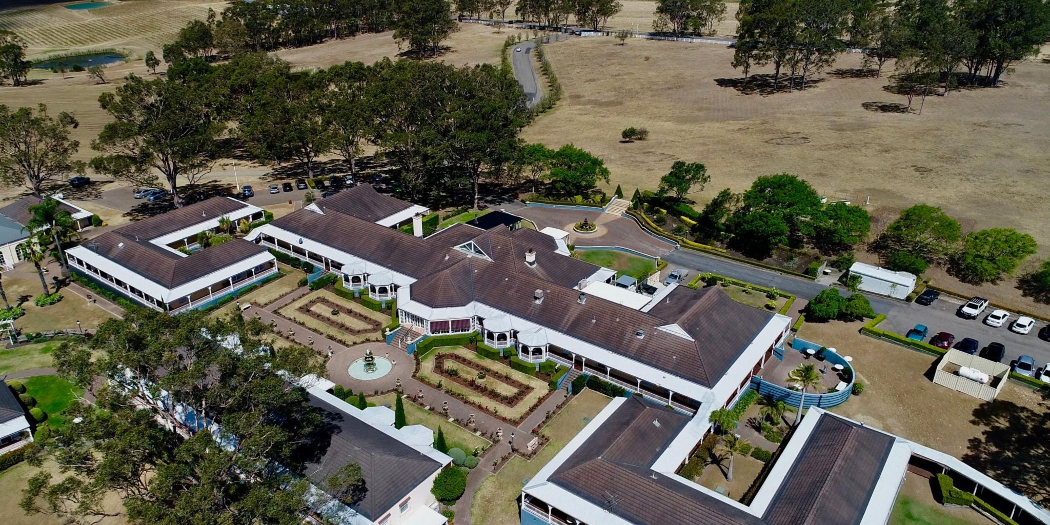 Hunter Valley A Boutique Destination View Of The Accommodation Buildings