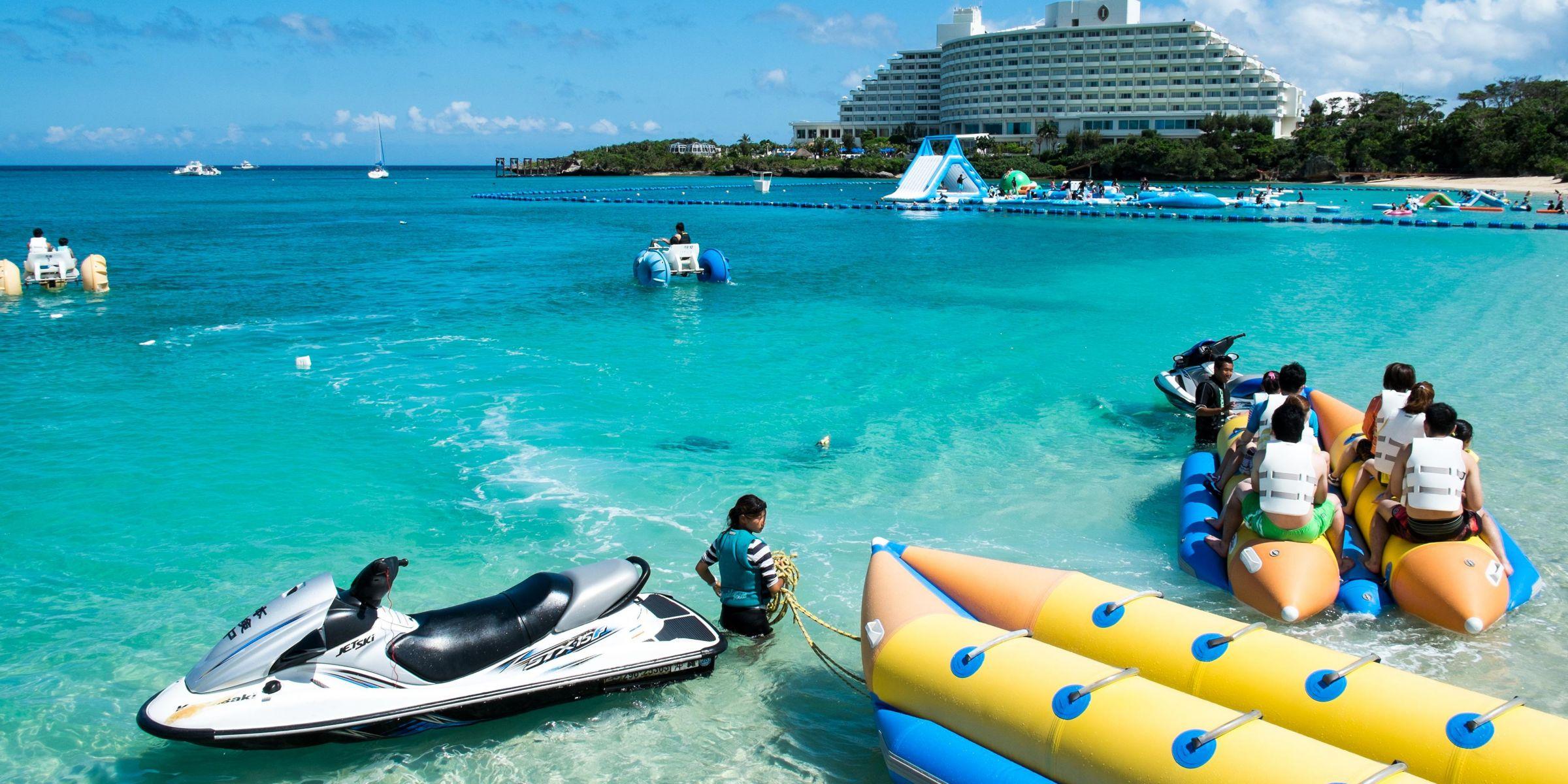 Okinawa Hotels Intercontinental Ana Manza Beach Resort Hotel In