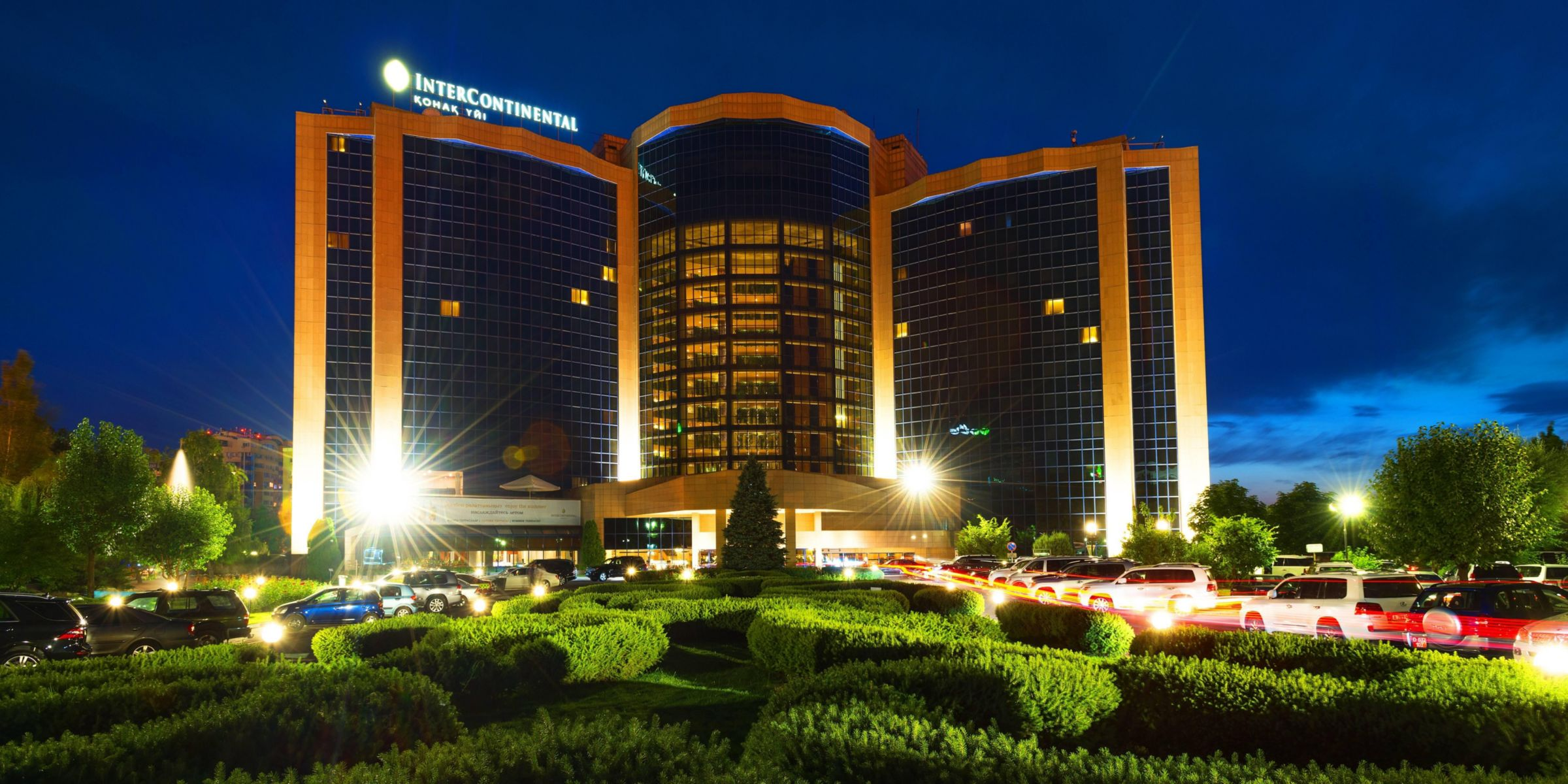 Republic Square Area Attractions Almaty Kazakhstan Hotel Exterior
