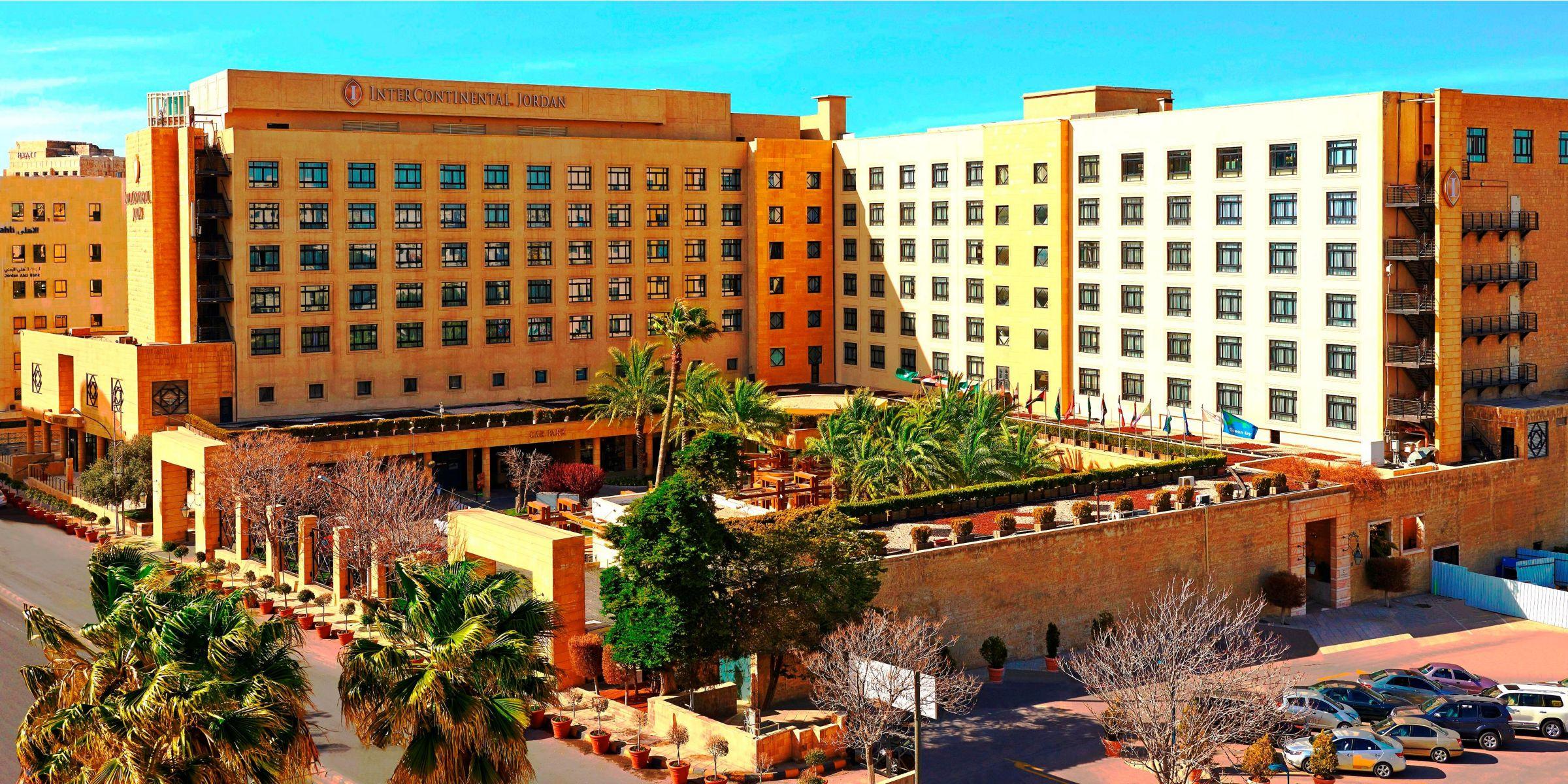 Intercontinental Jordan Hotel Exterior