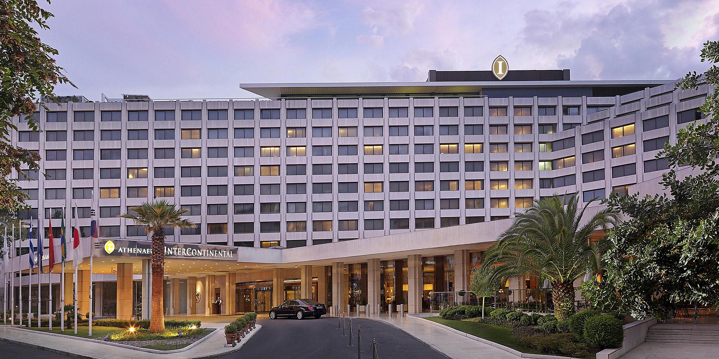 Luxury 5 Star Hotel Intercontinental Athenaeum Athens