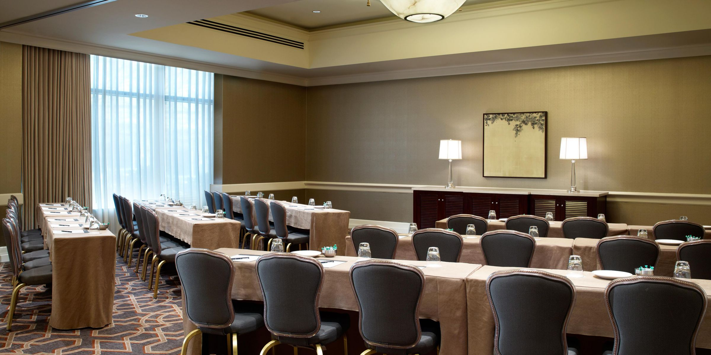 Intercontinental Buckhead Atlanta Hotel Meeting Rooms Wedding