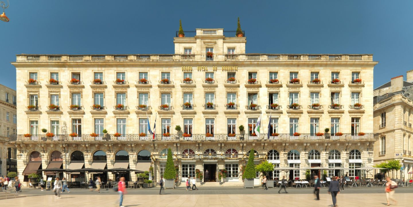 Luxury hotel intercontinental bordeaux le grand hotel for Grand hotel