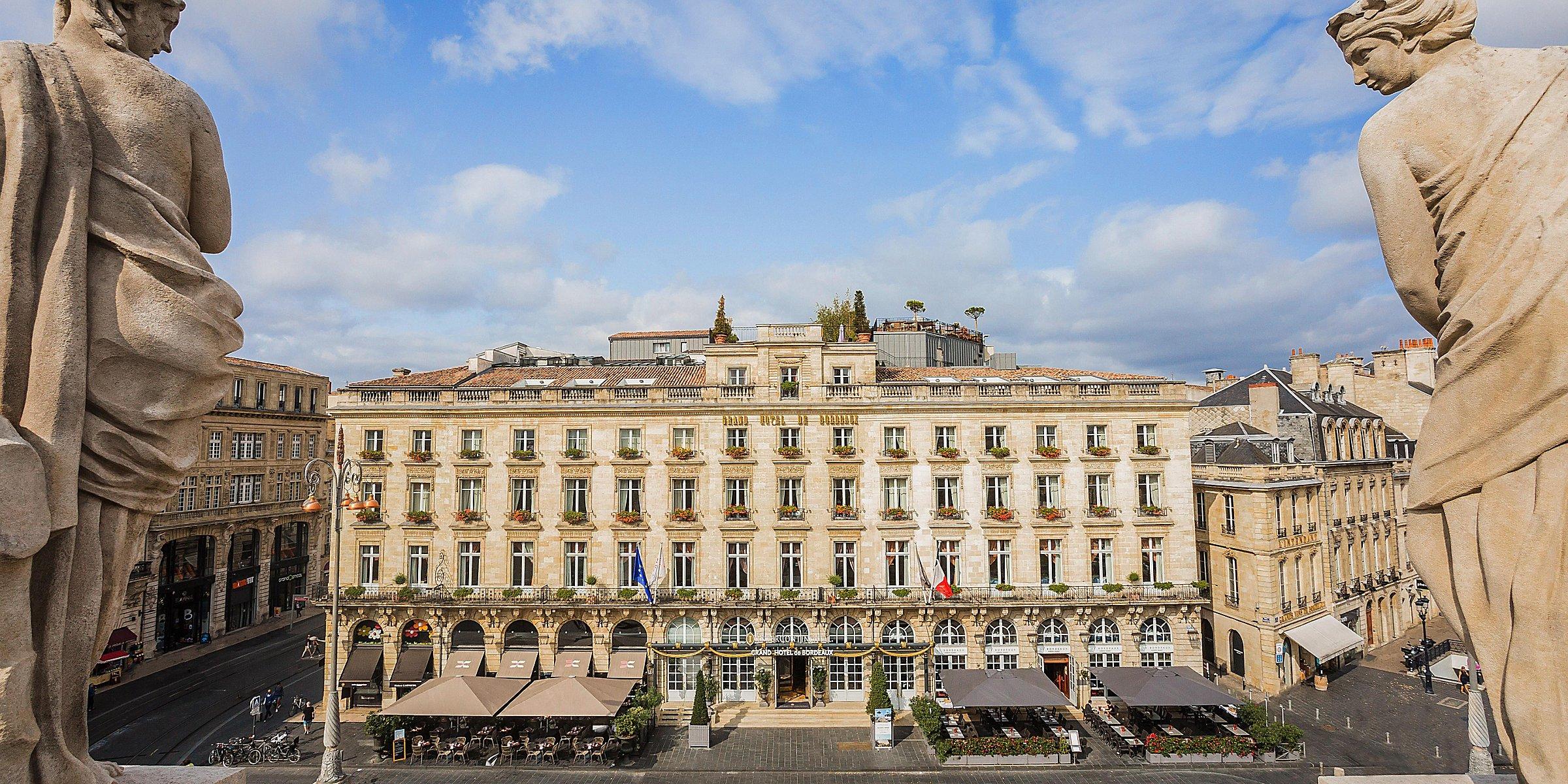 Carte Bordeaux Unesco.Luxury Hotel Intercontinental Bordeaux Le Grand Hotel