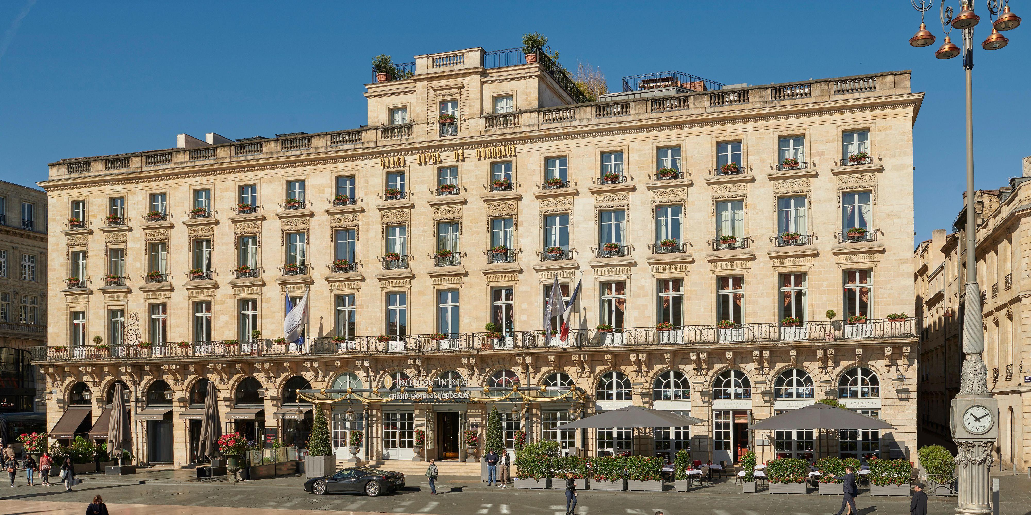 La Maison Des Deux Fées Bordeaux luxury hotel: intercontinental bordeaux - le grand hotel