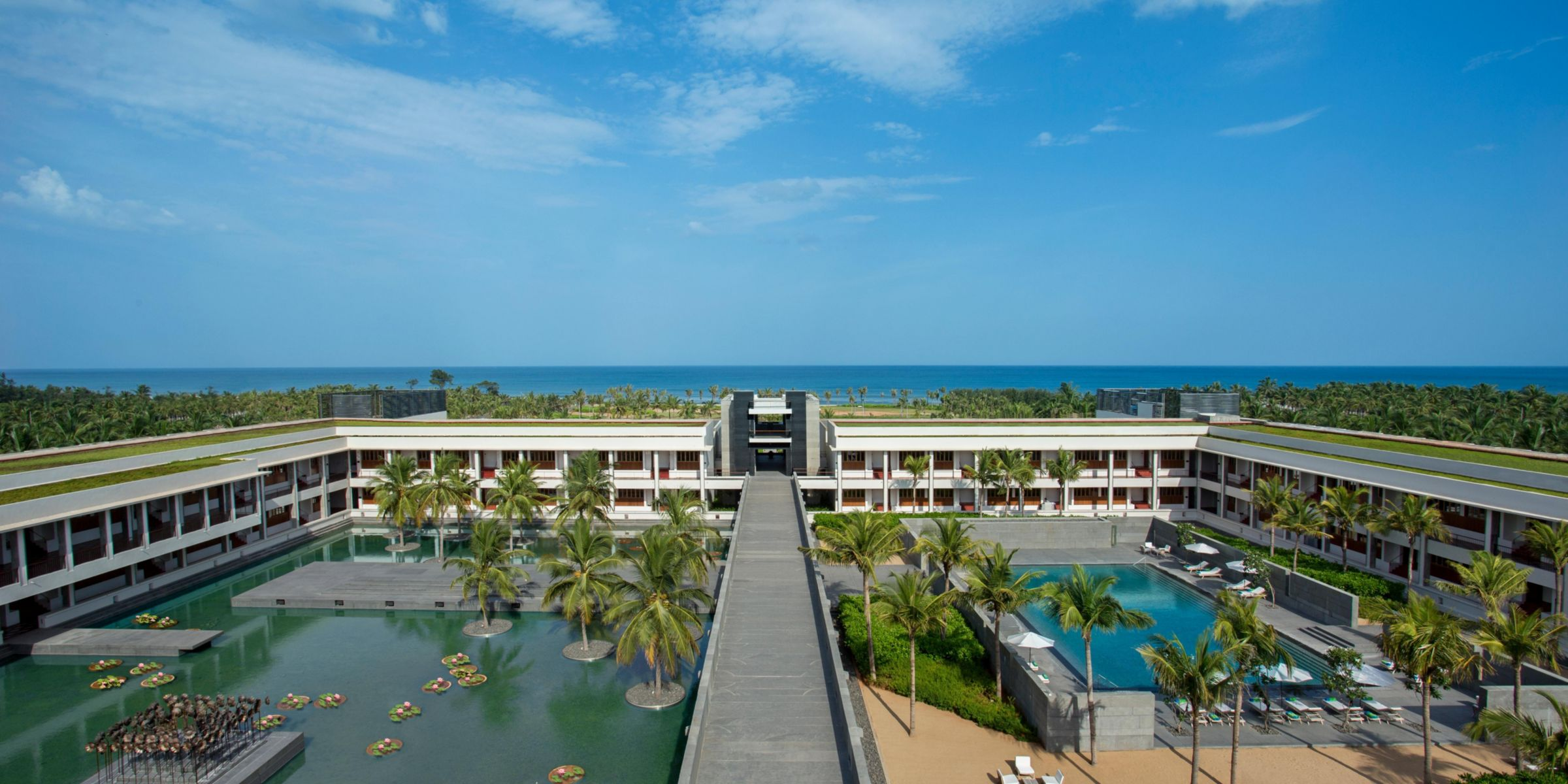 Concierge Entrance Aerial View Of Intercontinental Chennai Resort