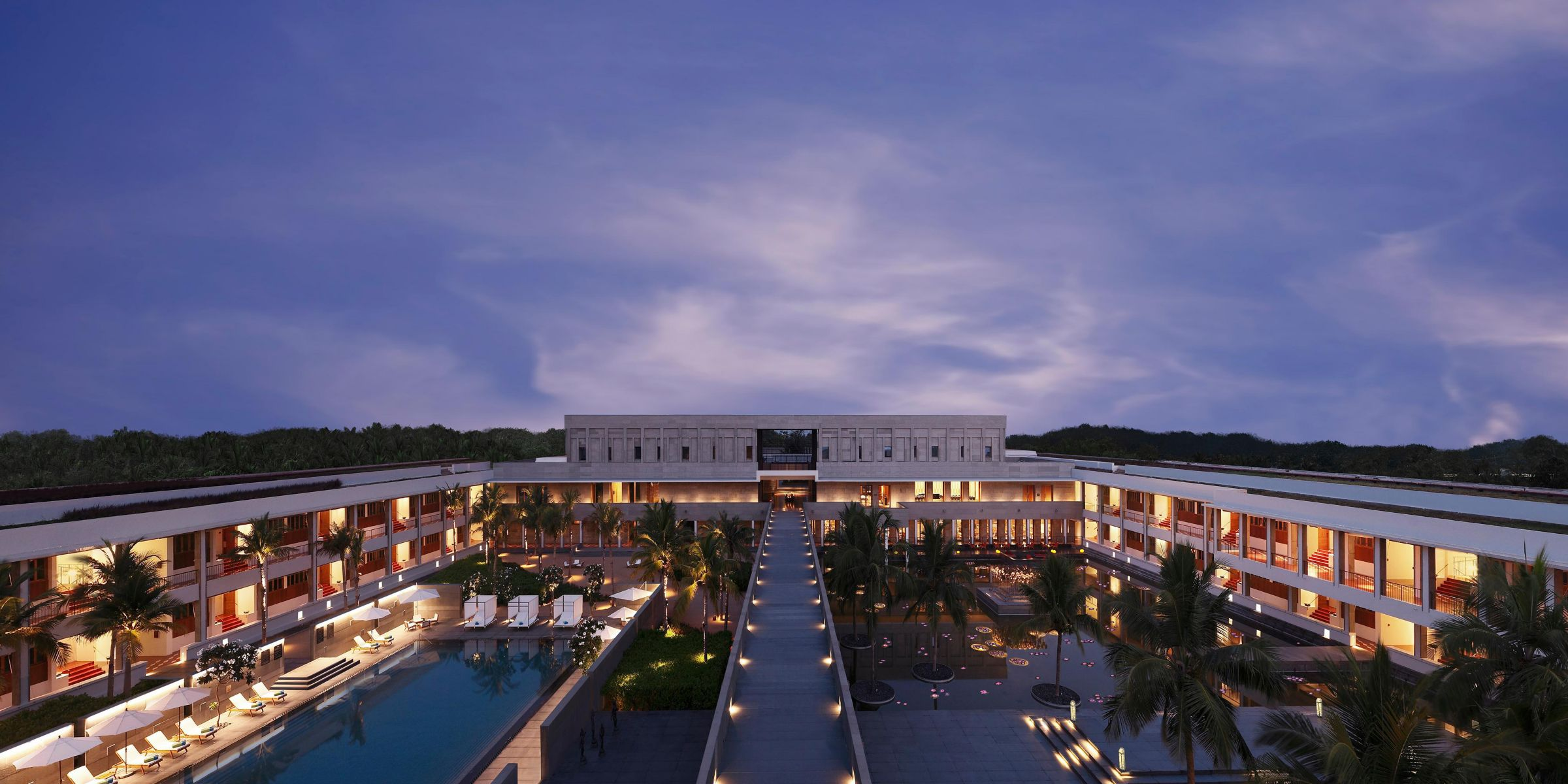 Intercontinental Chennai Mahabalipuram Resort Facade Exterior Feature Hotel