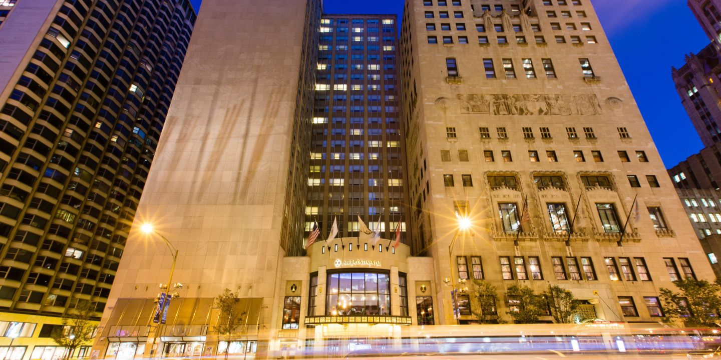 InterContinental Chicago Magnificent Mile Chicago Illinois - Chicago map miracle mile