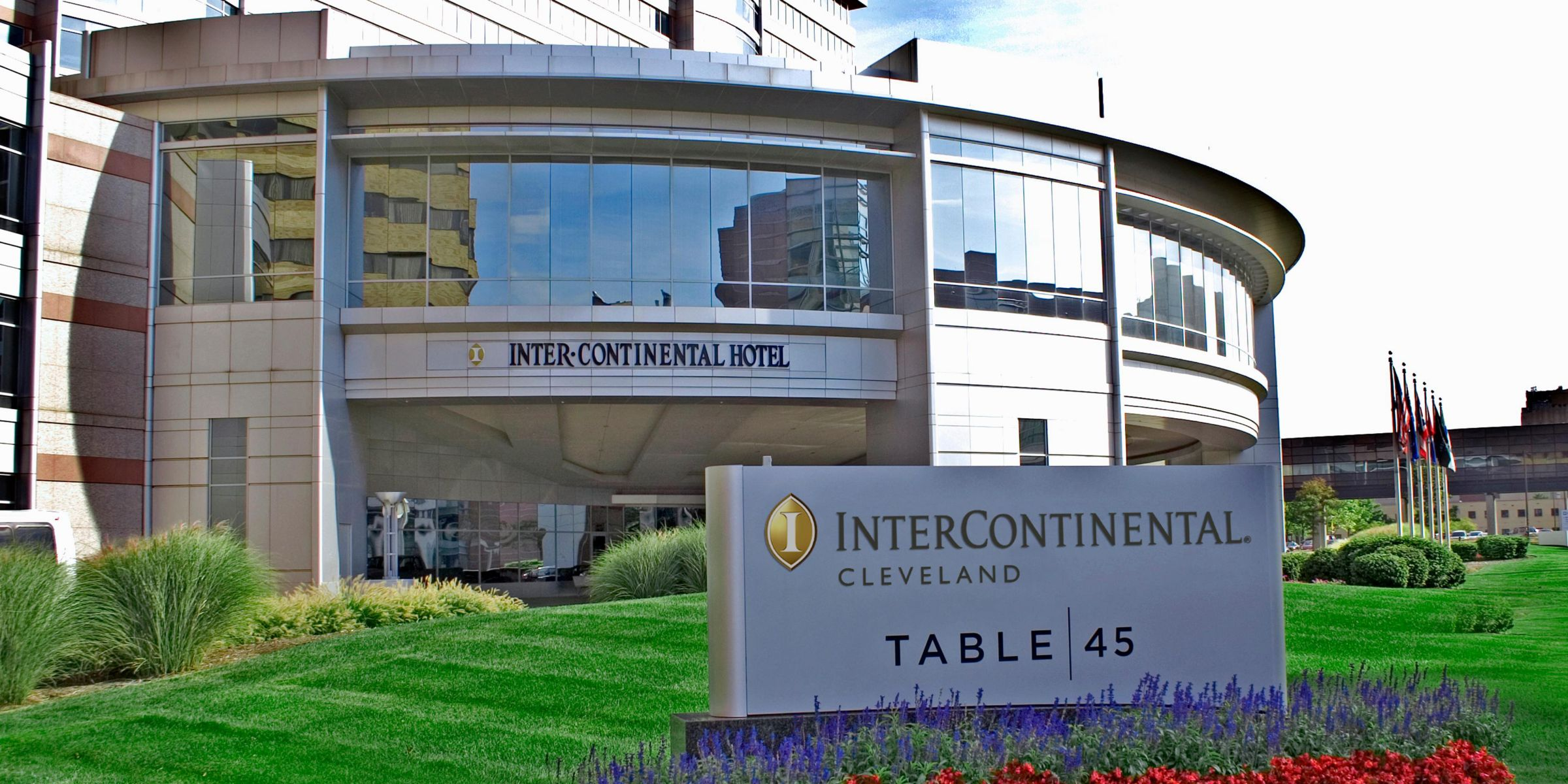 Hotel Exterior Intercontinental Cleveland