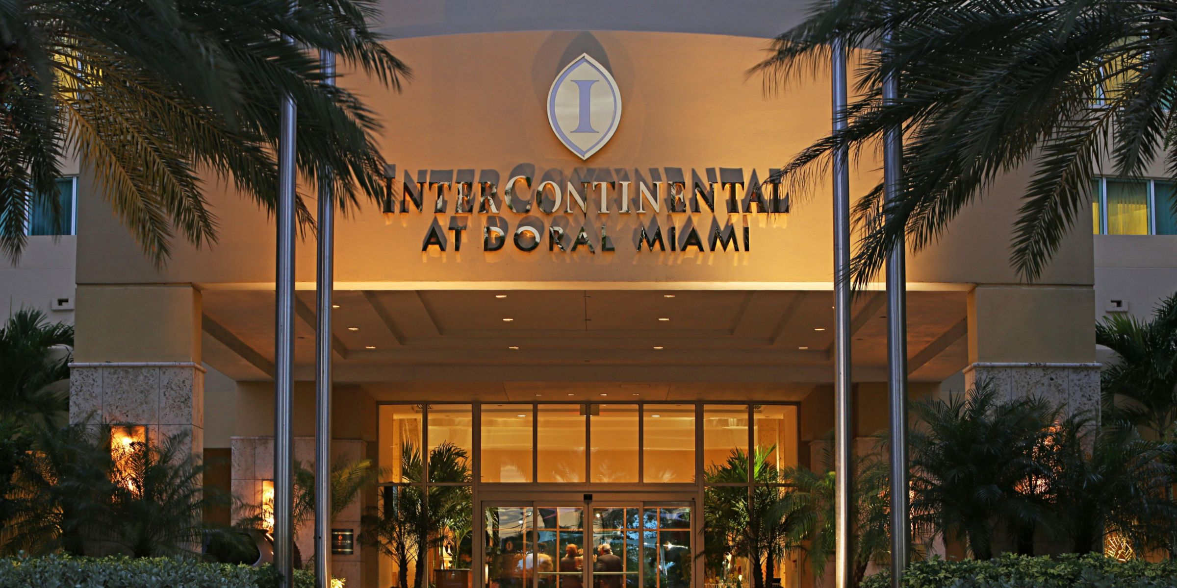 Hotel Exterior Intercontinental At D Miami Entrance